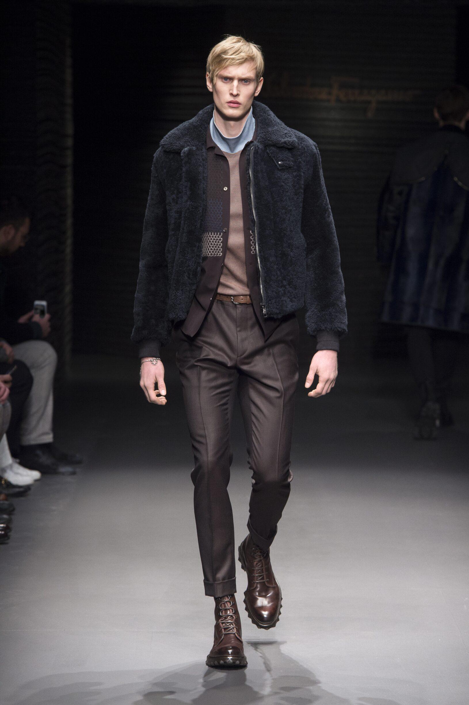 2017 Salvatore Ferragamo Fall Winter Man