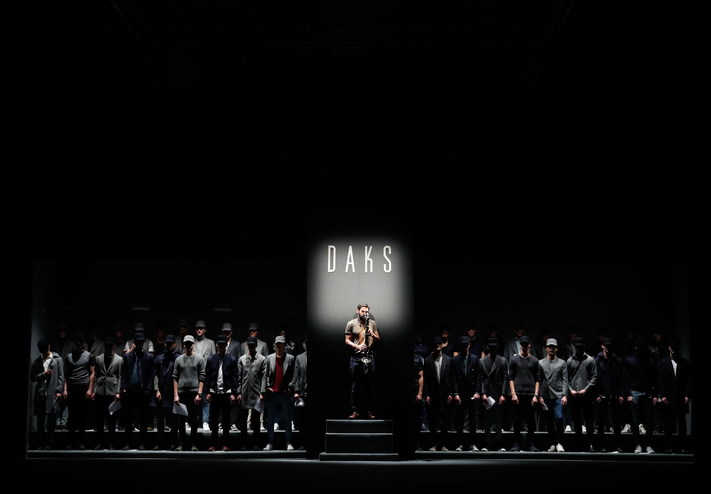 Backstage Daks Fall Winter 2017-18