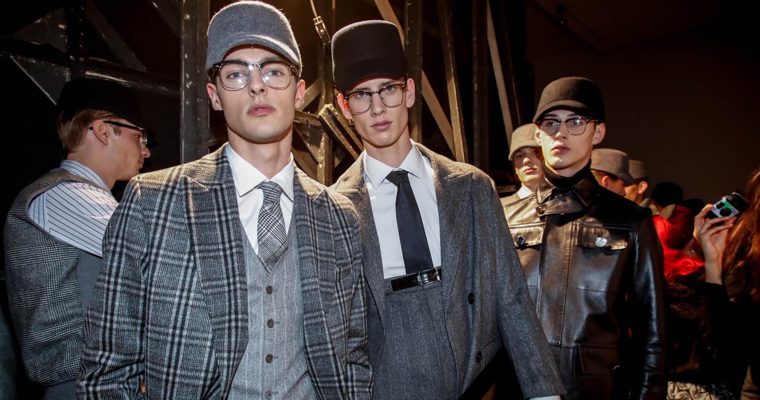 Backstage Daks Models Milan