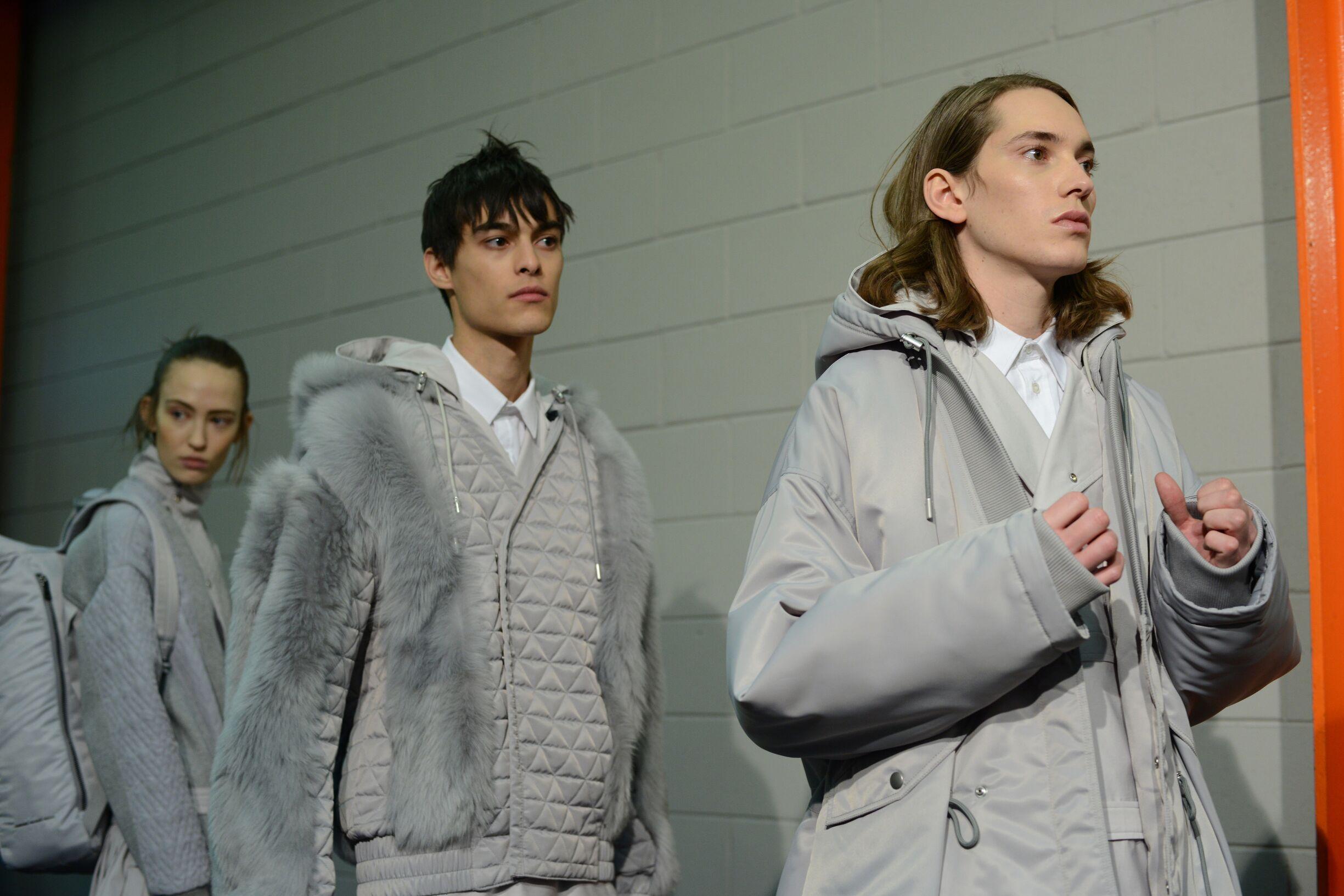 Backstage Diesel Black Gold Fashion Models
