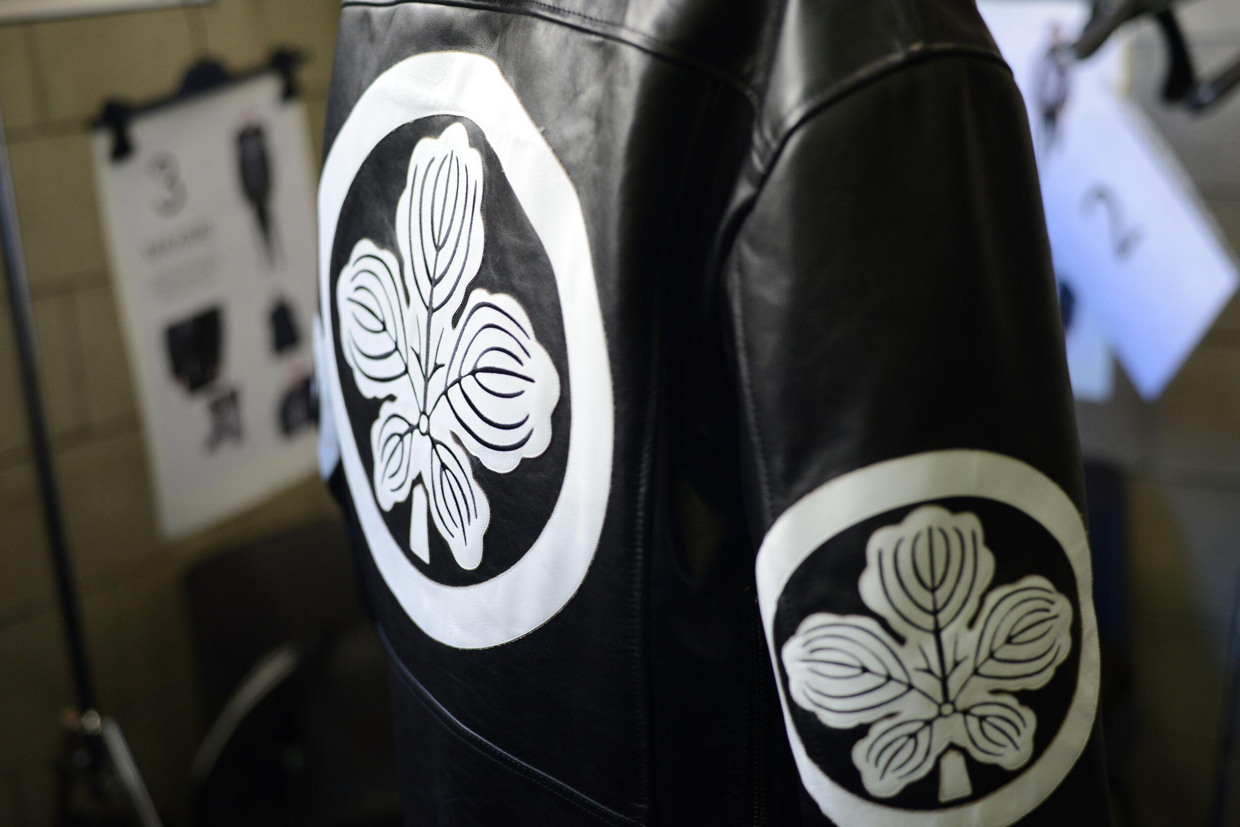 Backstage Diesel Black Gold Jacket Detail