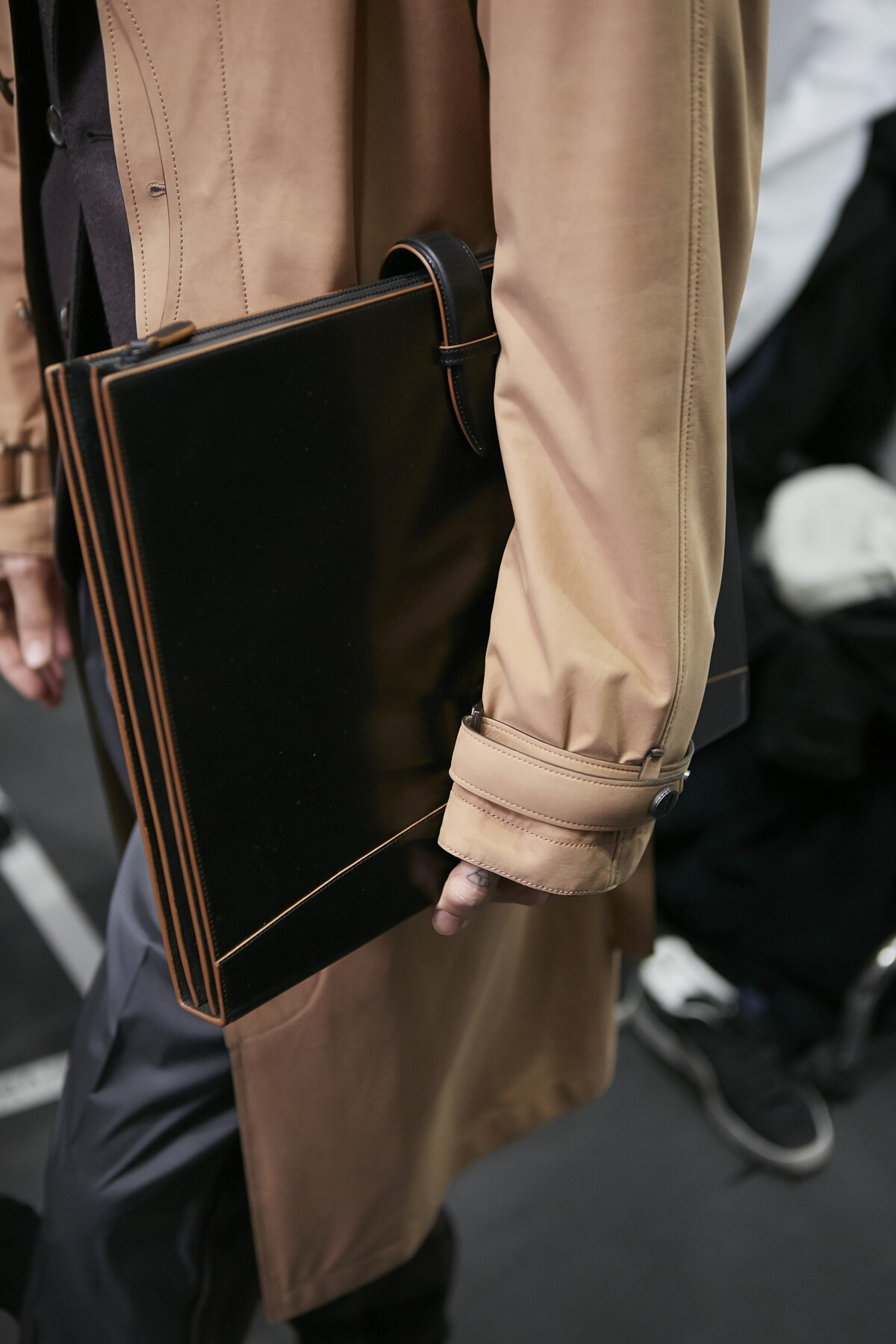 Backstage Ermenegildo Zegna Fashion Bag