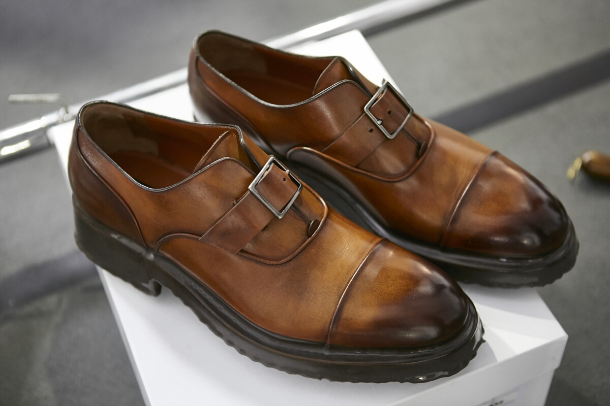 Backstage Ermenegildo Zegna Shoes