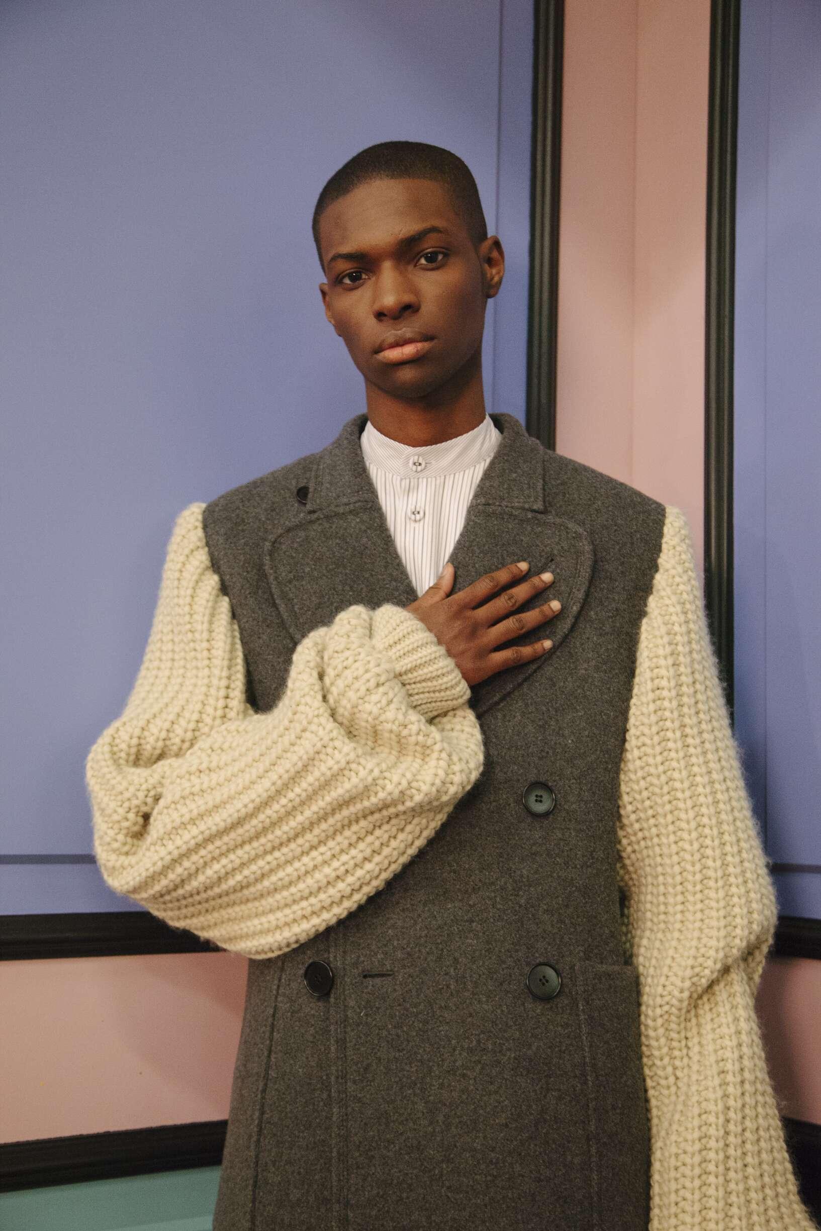 Backstage J.W Anderson Man Model London