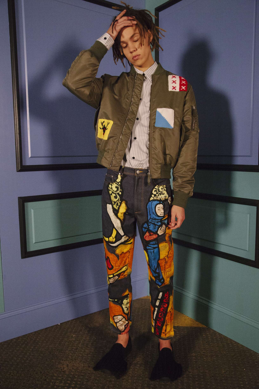 Backstage Man J.W Anderson Model