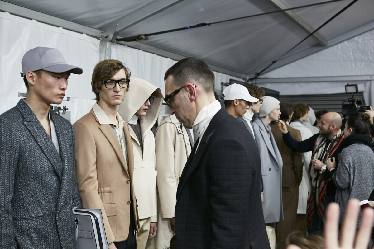 Backstage Men Ermenegildo Zegna FW 2017