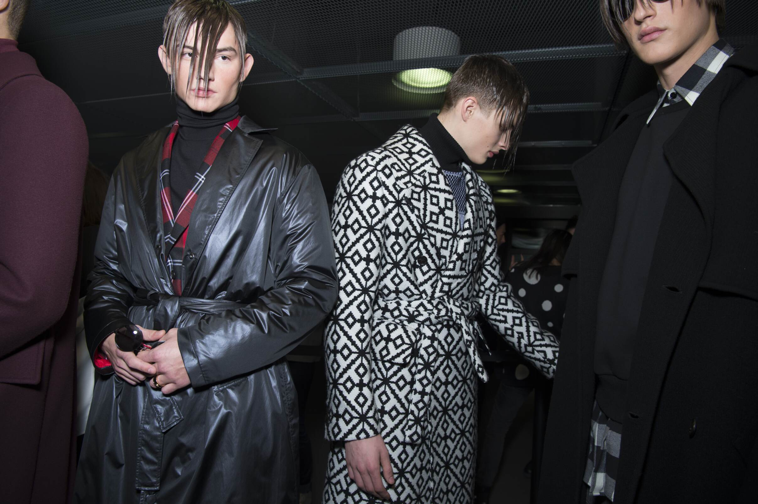 Backstage Mens Versace Details
