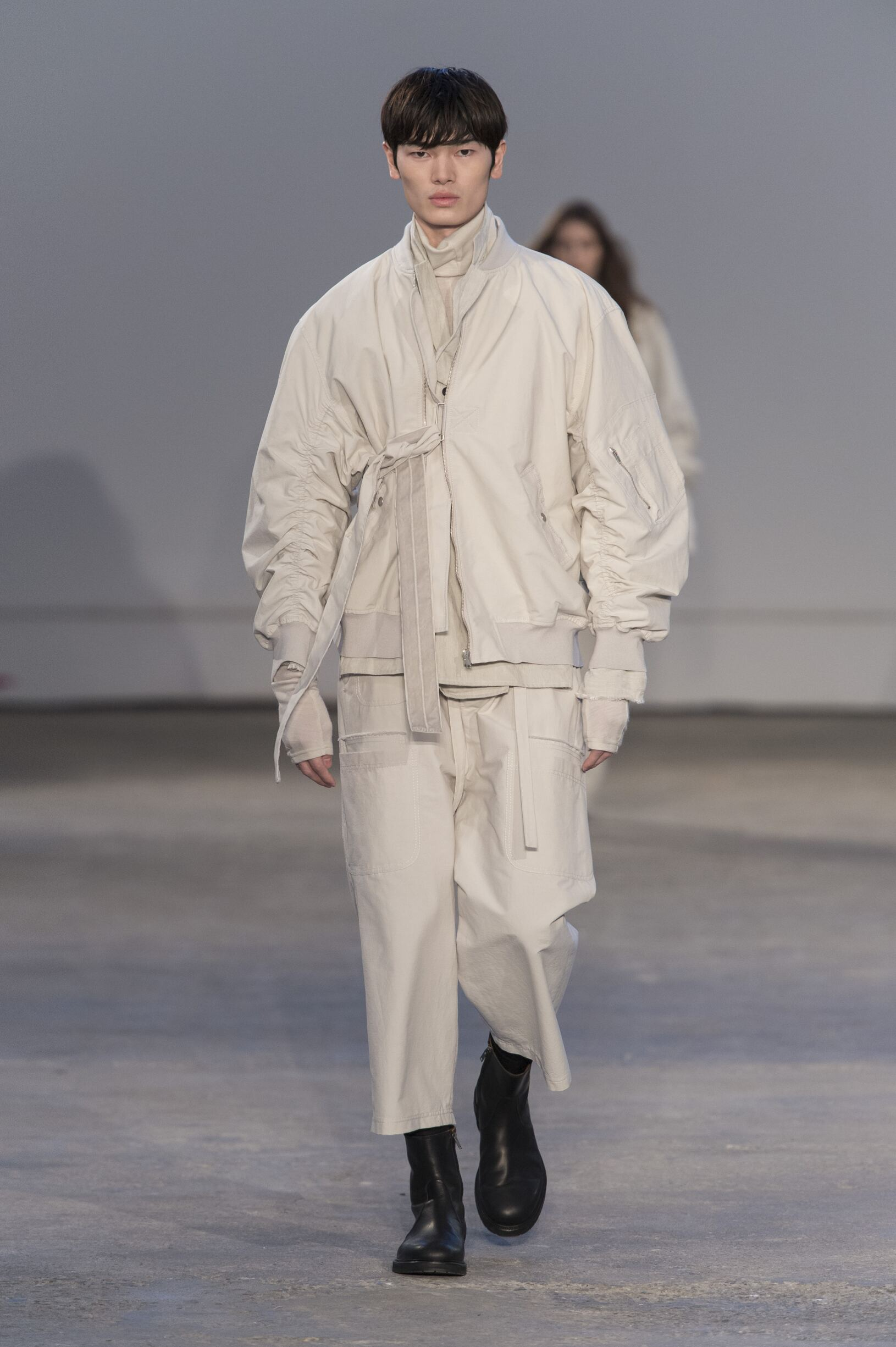 Catwalk Damir Doma Man Fashion Show Winter 2017