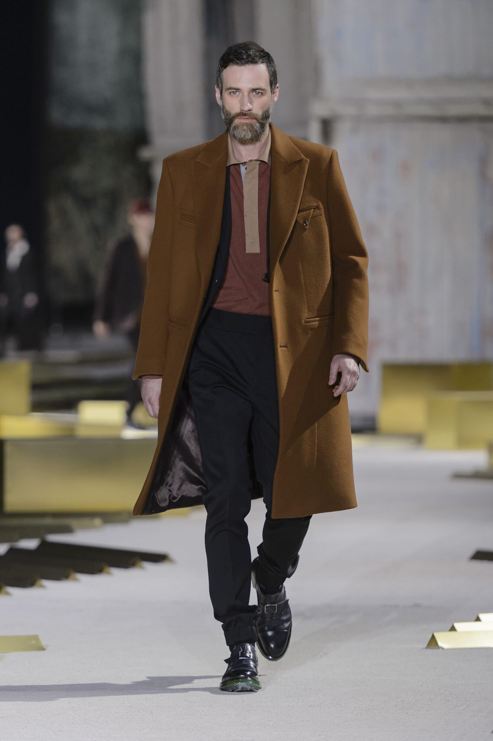 Catwalk Ermenegildo Zegna Man Fashion Show Winter 2017