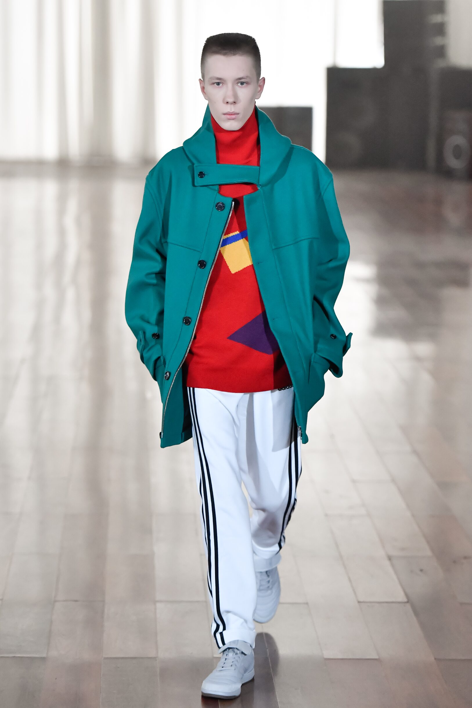 Catwalk Gosha Rubchinskiy Winter 2017