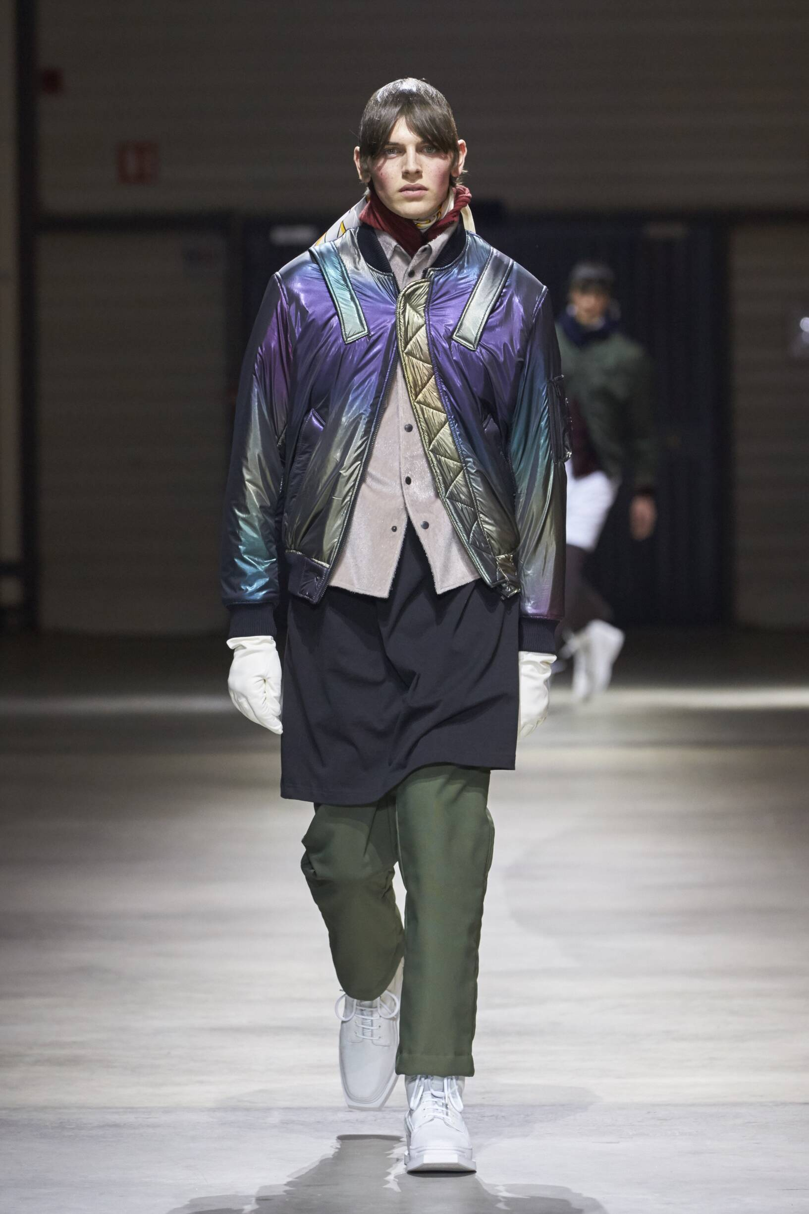 Catwalk Kenzo Man Fashion Show Winter 2017