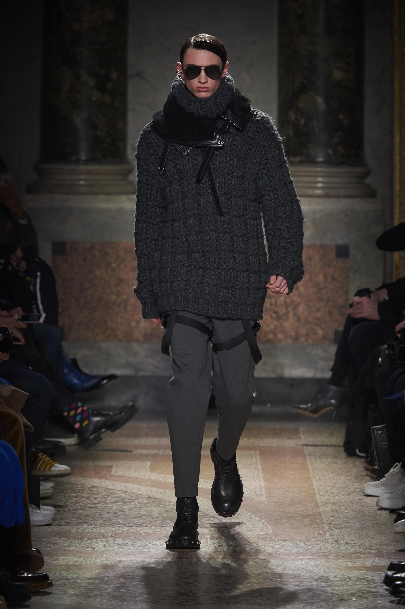 Catwalk Les Hommes Man Fashion Show Winter 2017