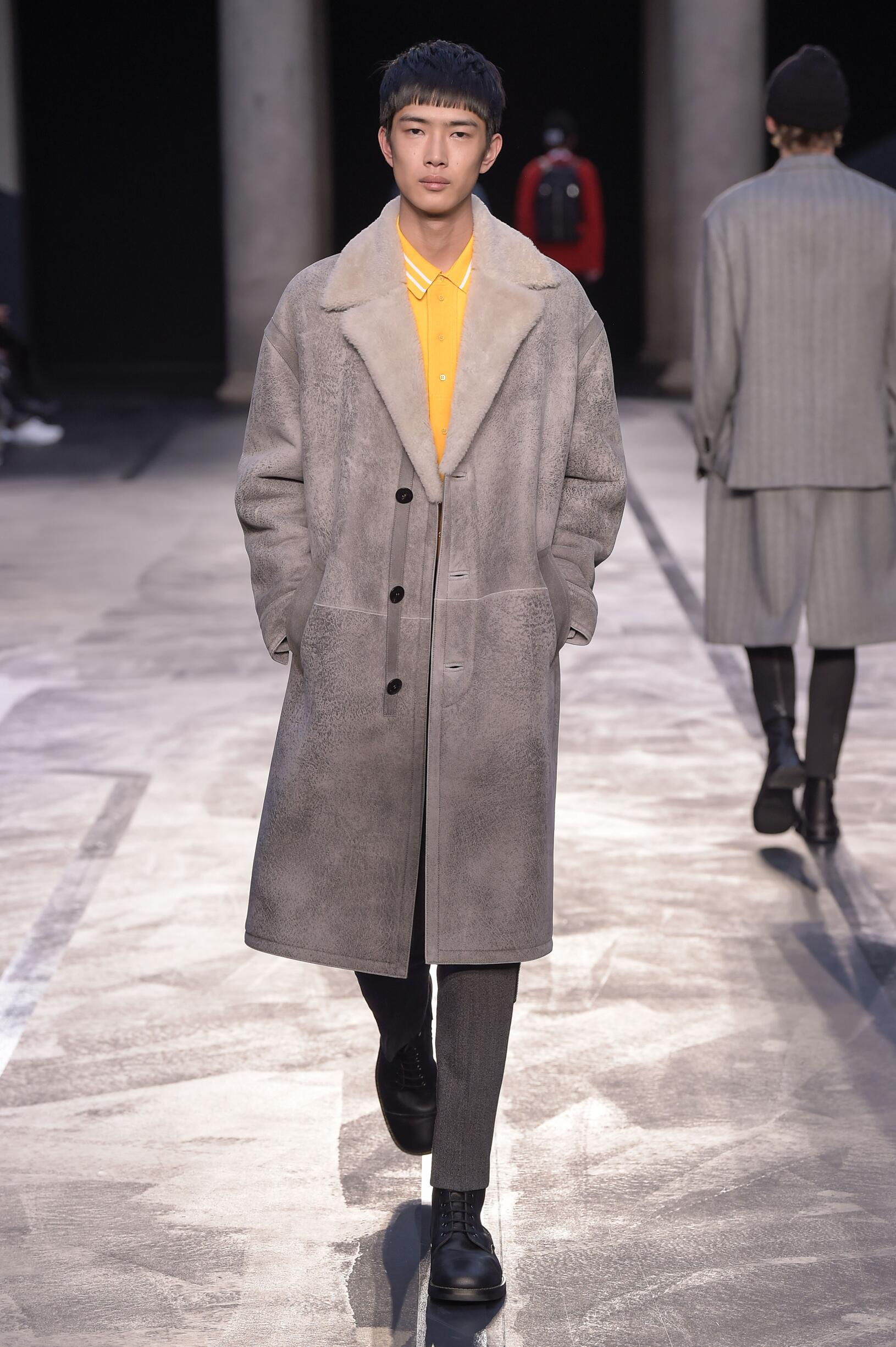 Catwalk Neil Barrett Winter 2017