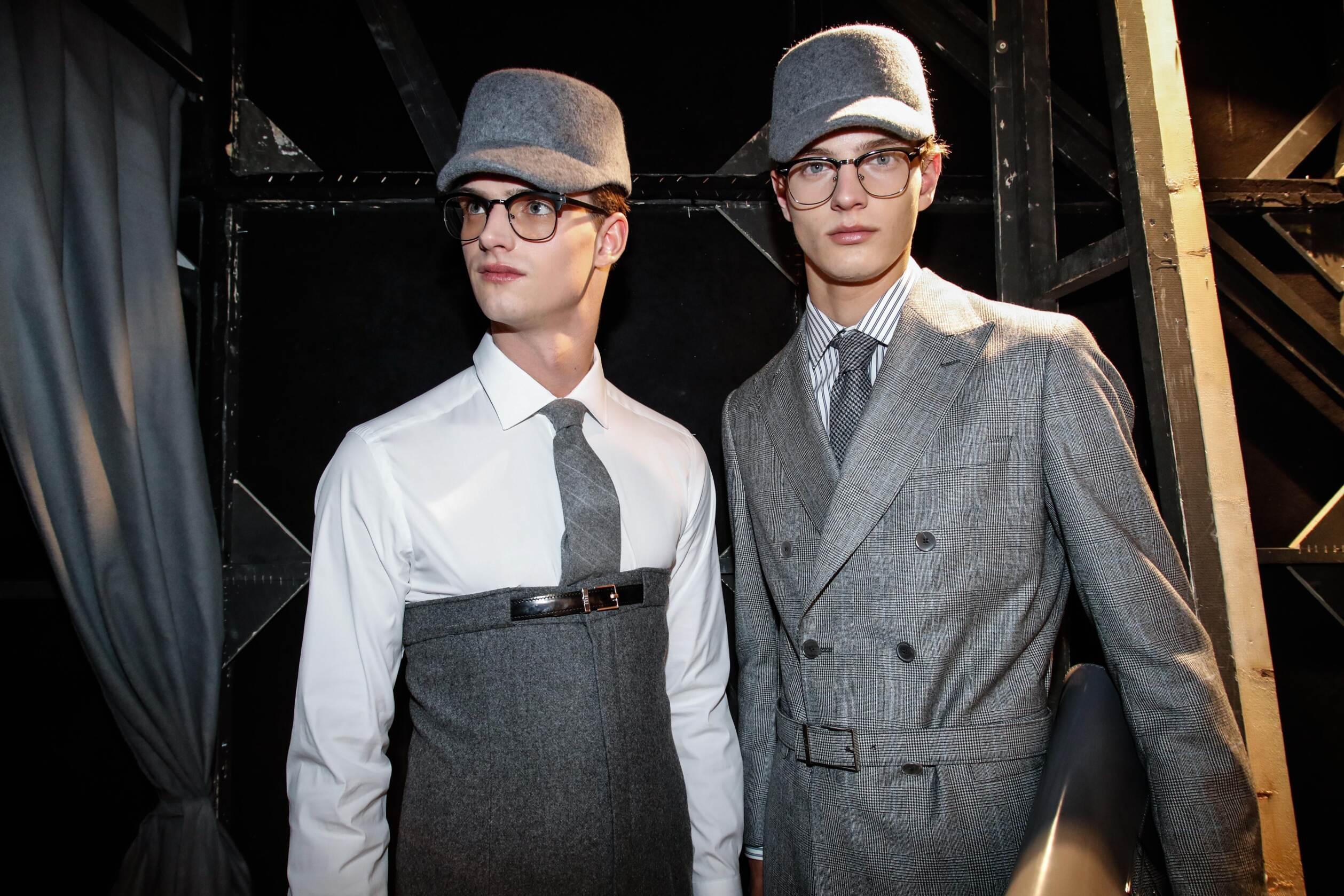 Daks Backstage 2017 Milan Men Models