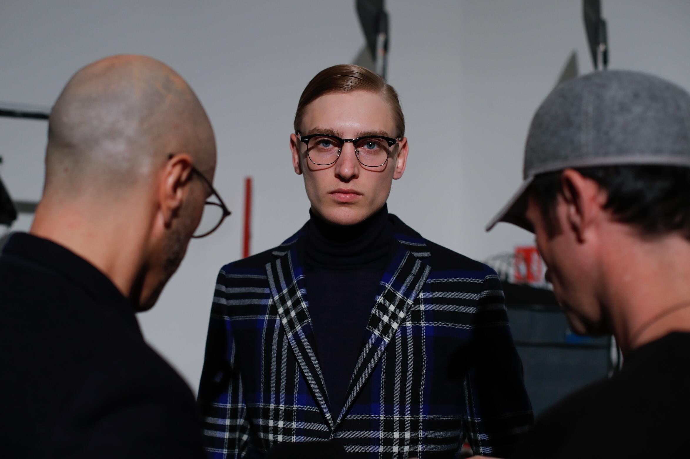 Daks Backstage Man Model