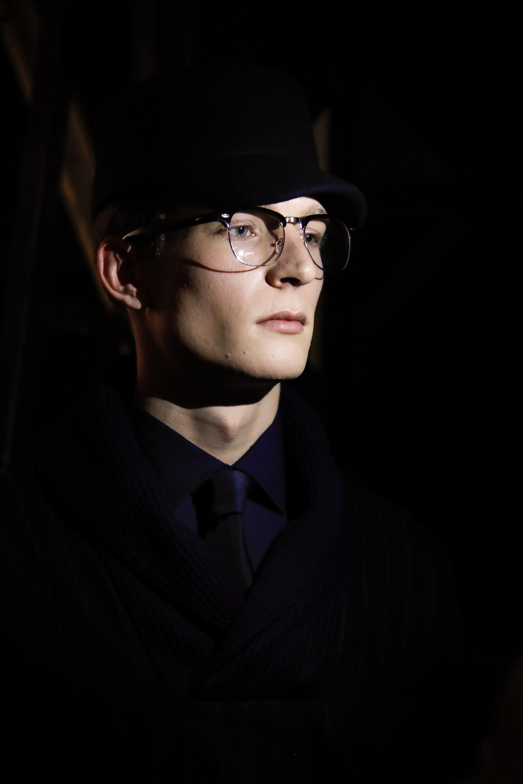 Daks Model Man Backstage