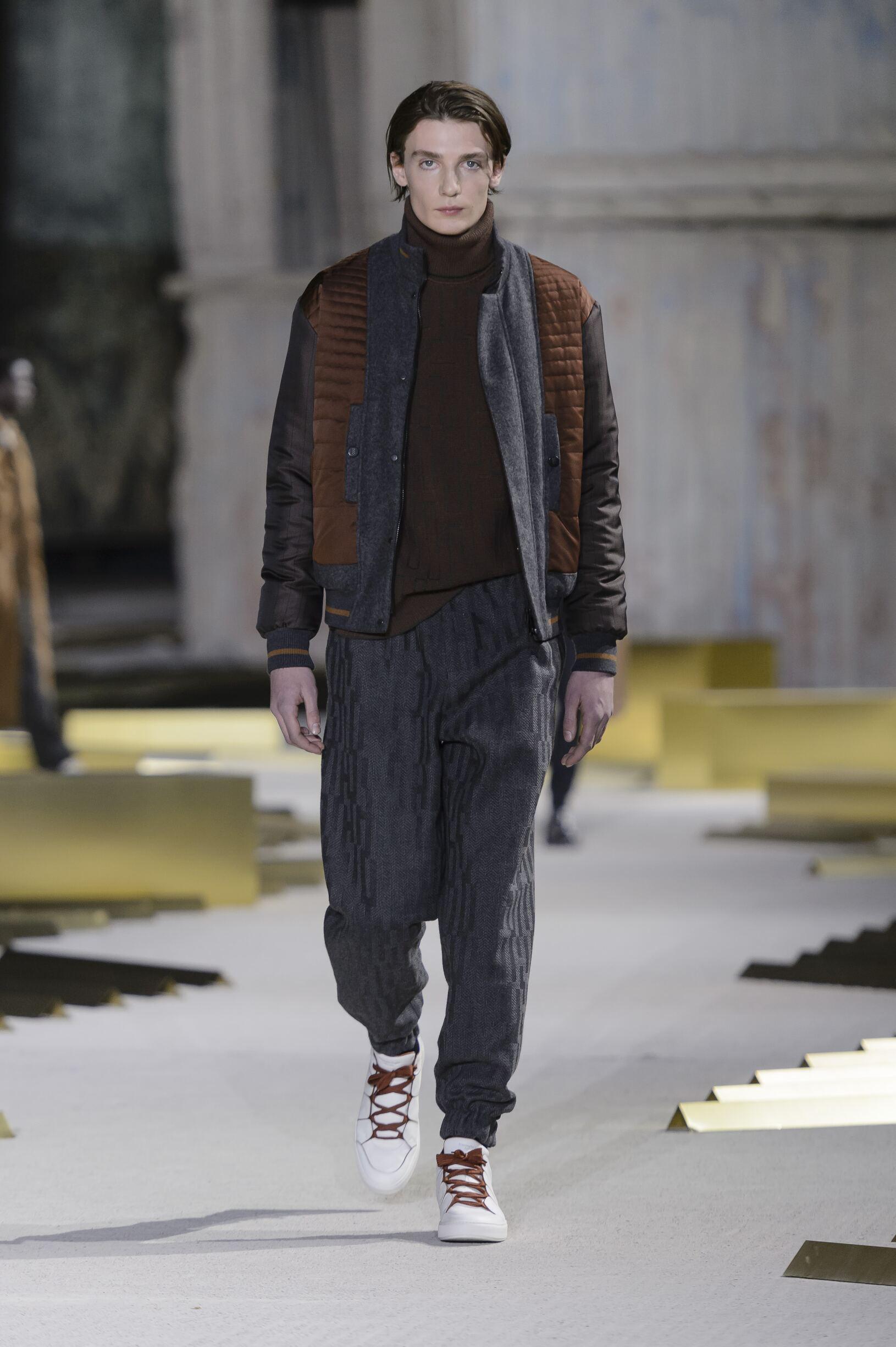 Ermenegildo Zegna Fashion Show