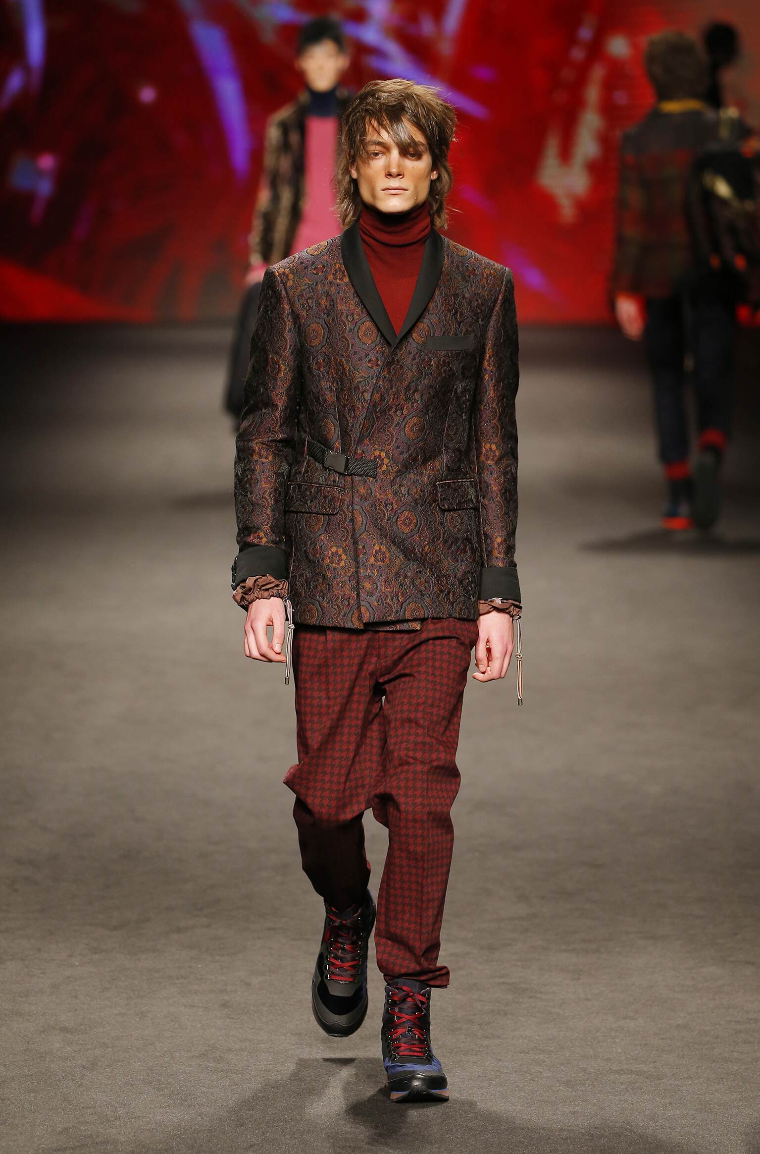 Etro Fall Winter 2017 Mens Collection Milan Fashion Week