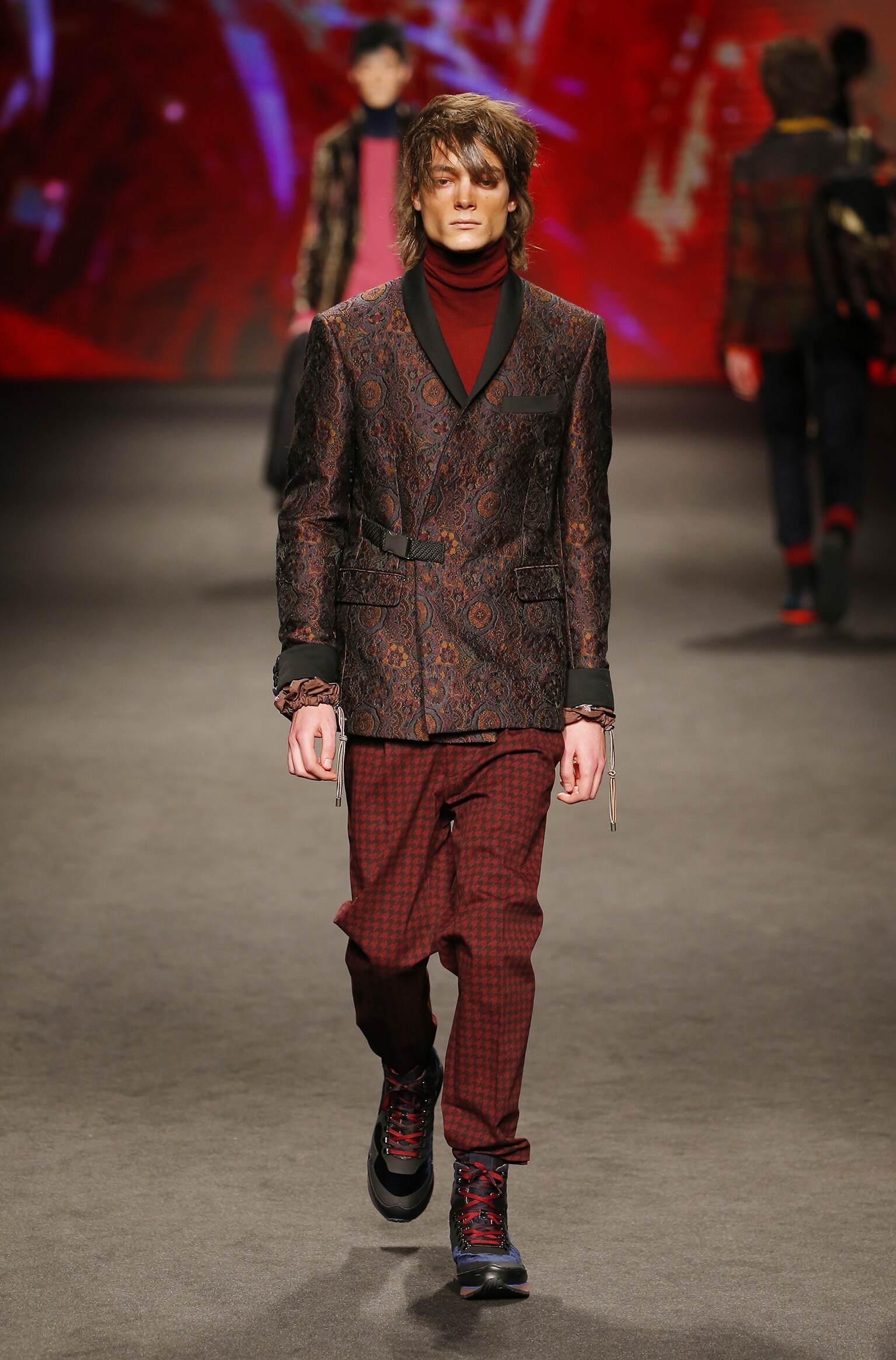 Etro Fall Winter 2017 Mens Collection Milan Fashion Week
