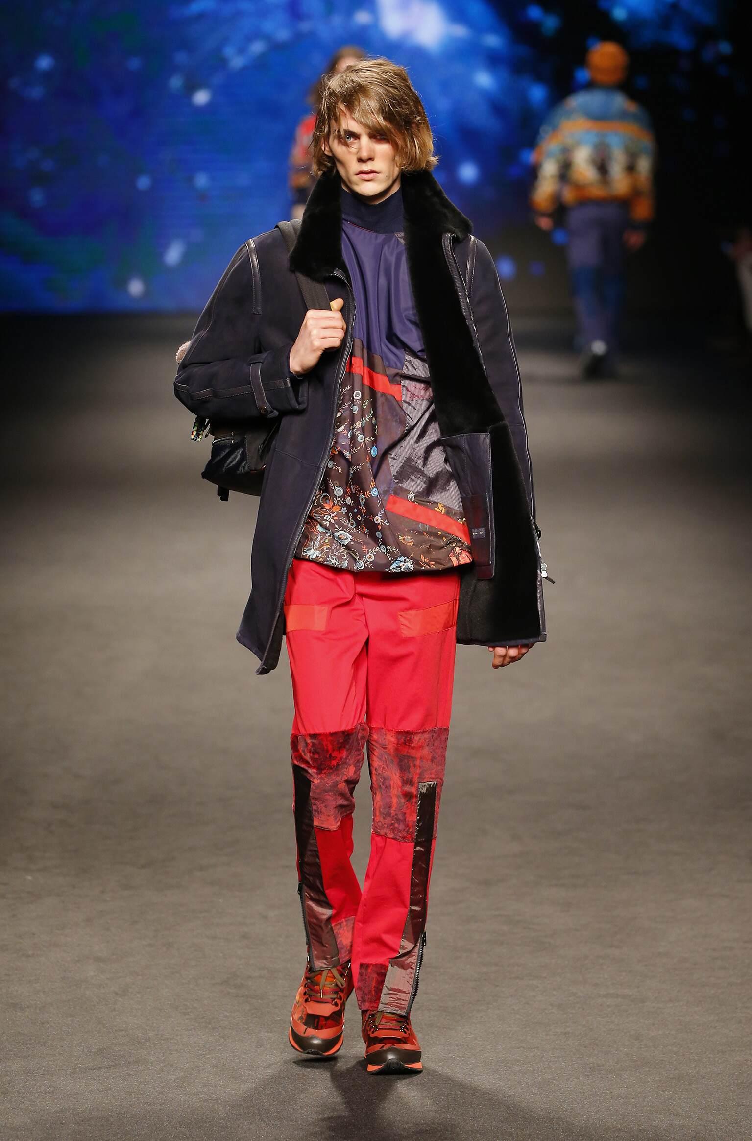 Etro Milan Fashion Week Menswear