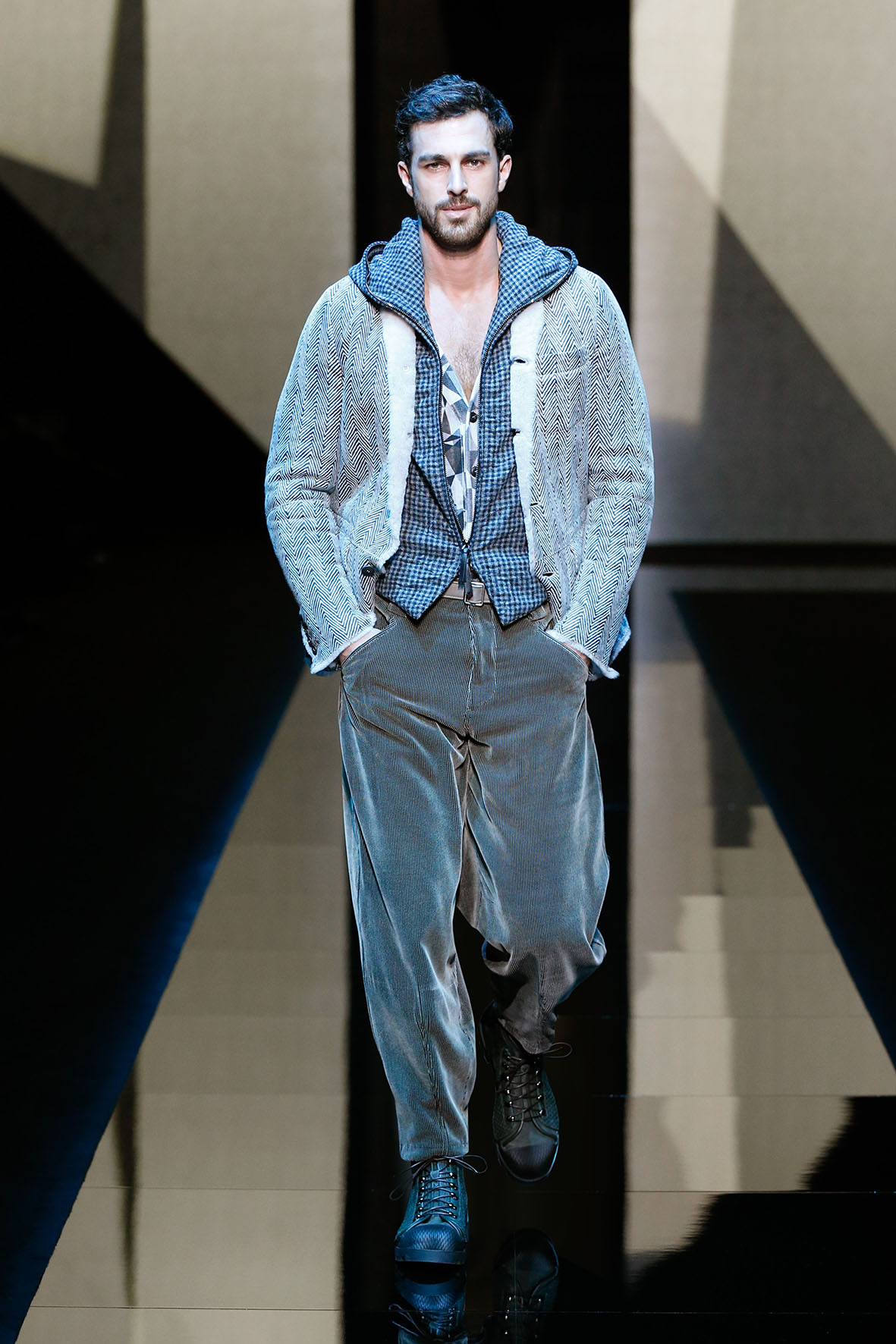 Giorgio Armani Fall Winter 2017 18 Men S Collection