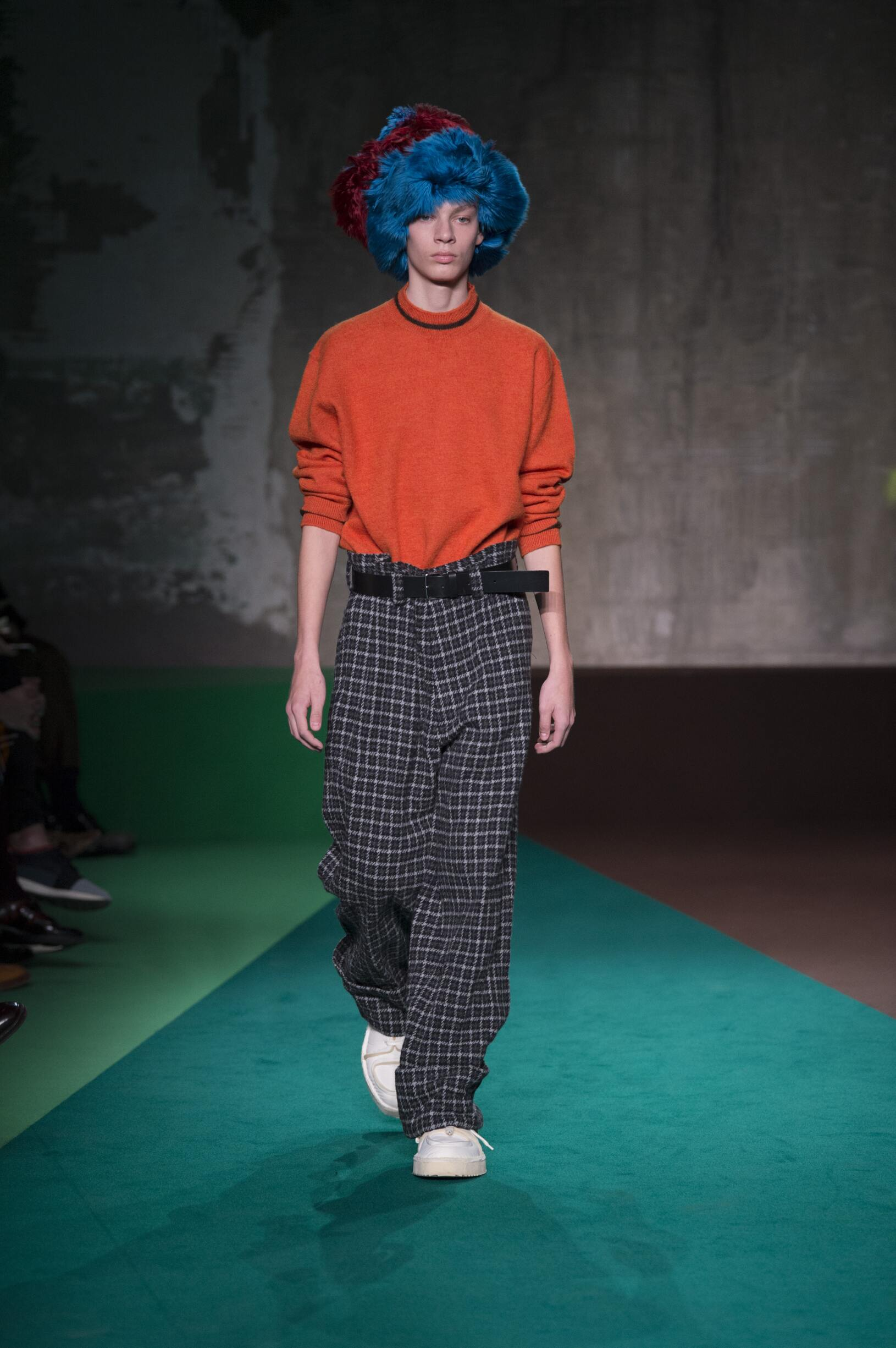 FW 2017-18 Fashion Show Marni