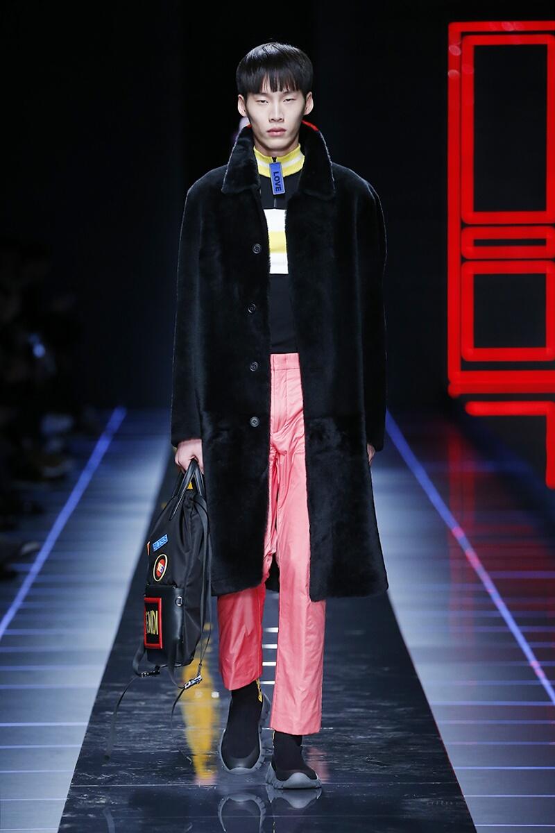 FW 2017-18 Fendi Fashion Show Milan