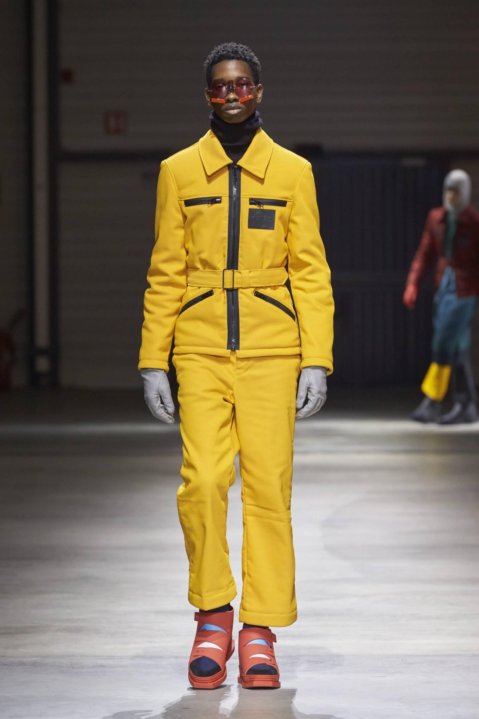 FW 2017-18 Kenzo Fashion Show Man