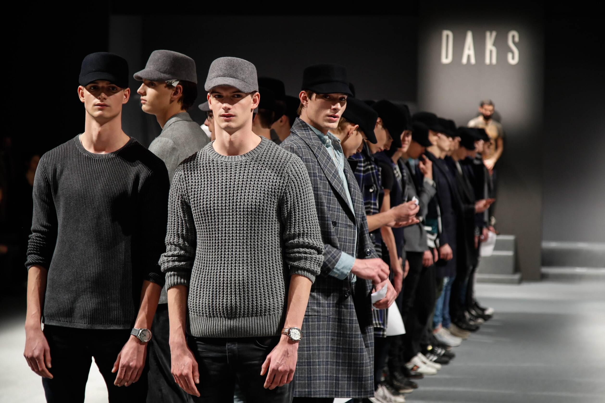 FW 2017-2018 Backstage Daks Models