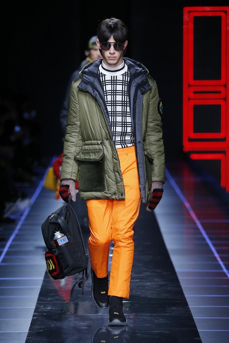 FW 2017-2018 Fendi Fashion Show Milan