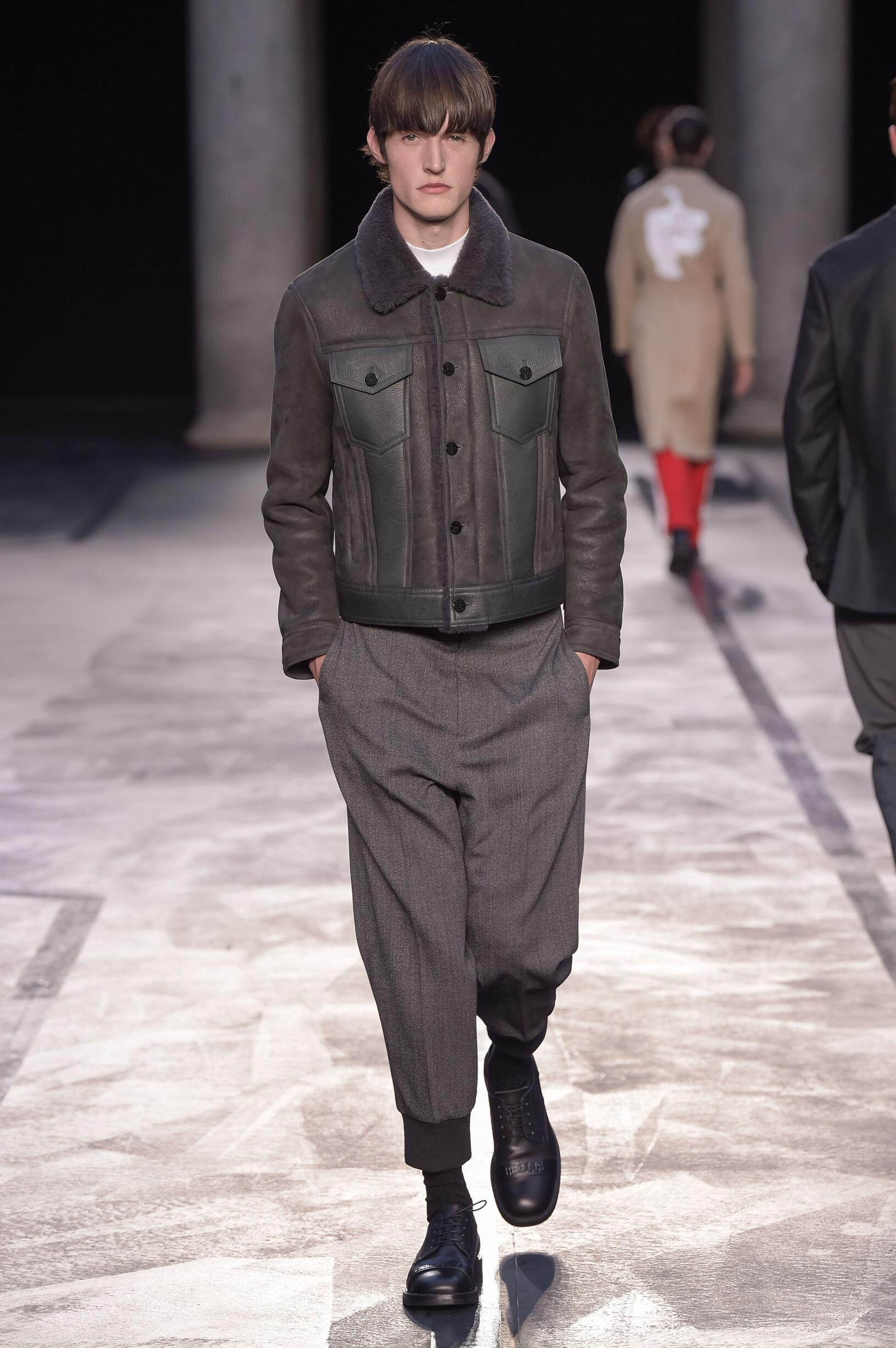 FW 2017 Neil Barrett Fashion Show Milan