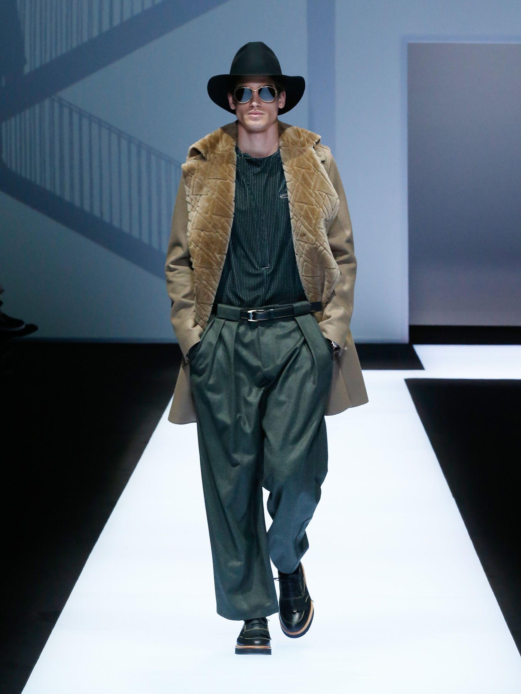 Fall 2017 18 Menswear Emporio Armani