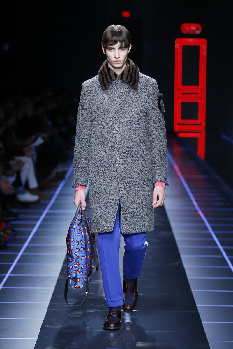 Fall 2017-18 Menswear Fendi