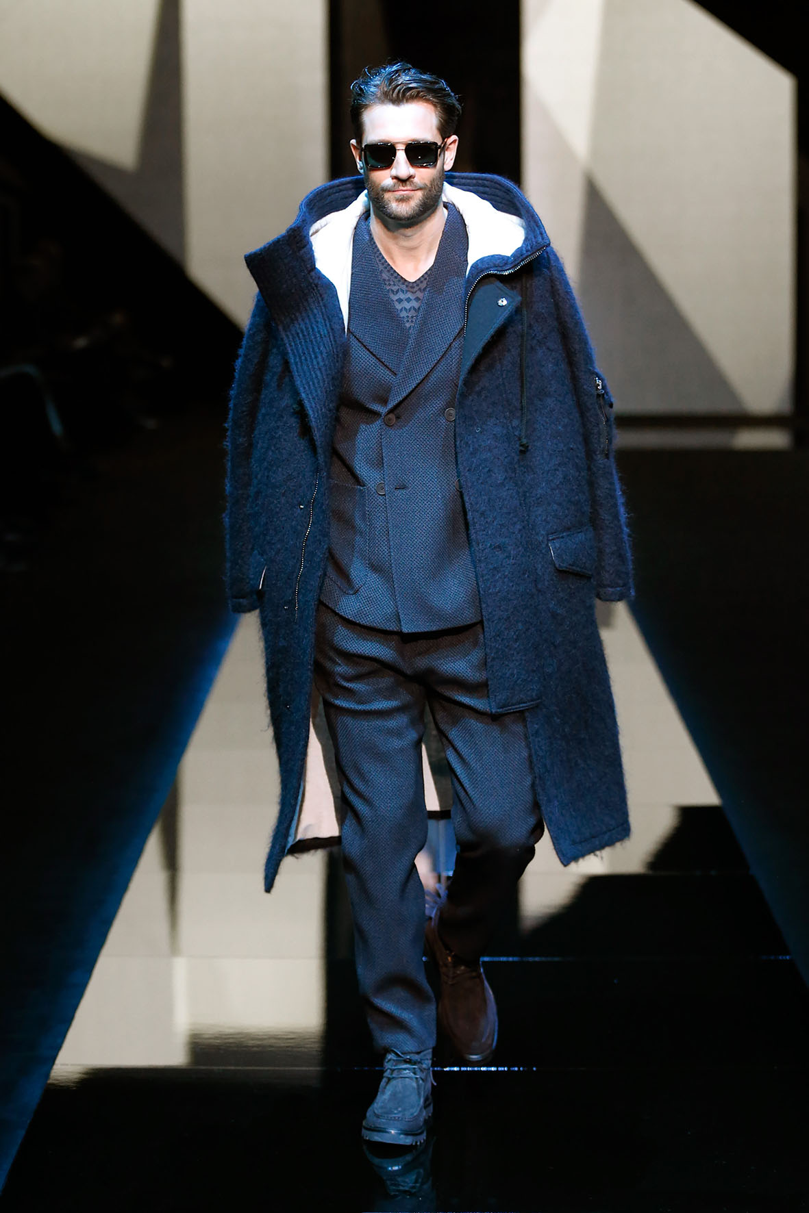 Fall 2017-18 Menswear Giorgio Armani