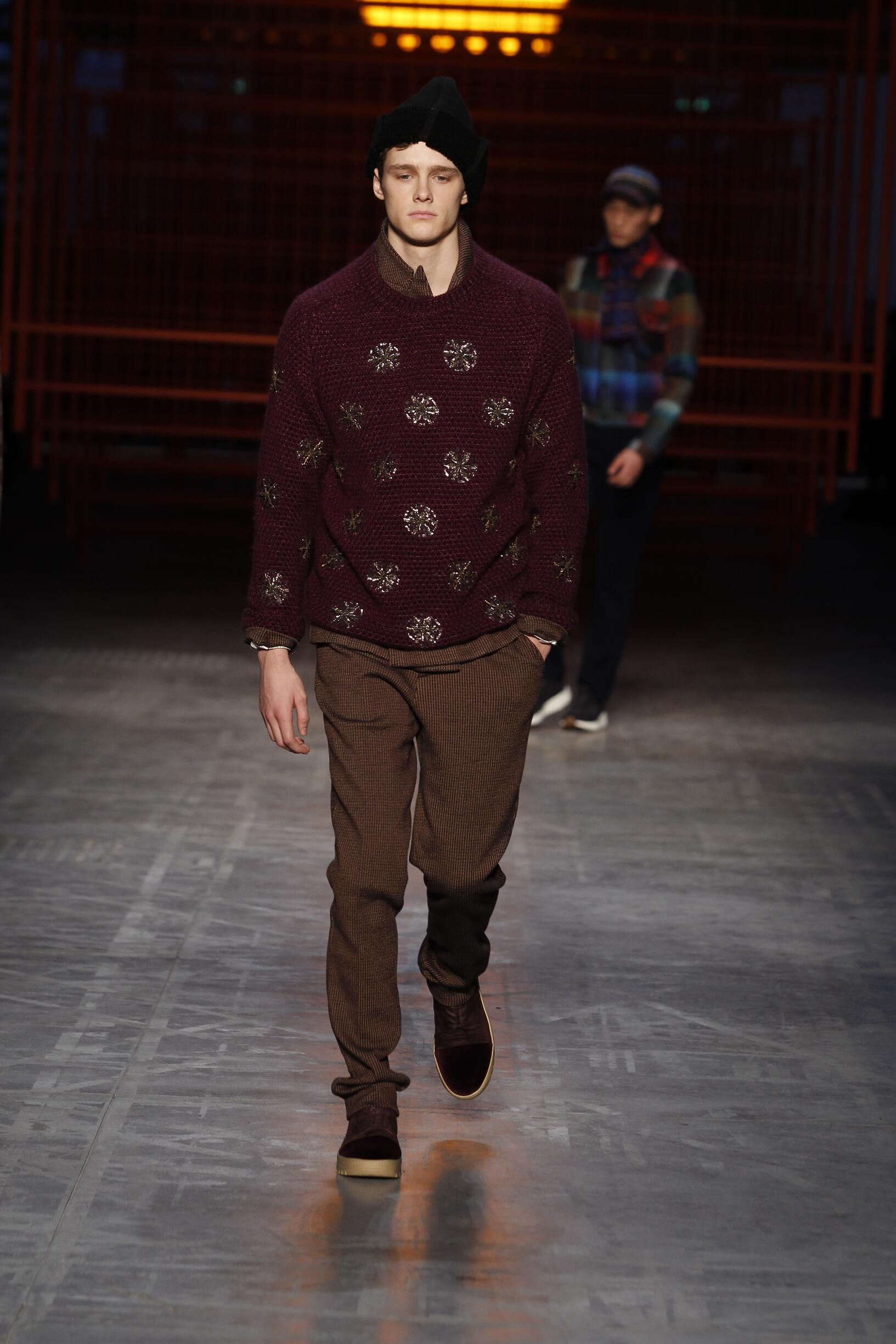 Fall 2017-18 Menswear Missoni