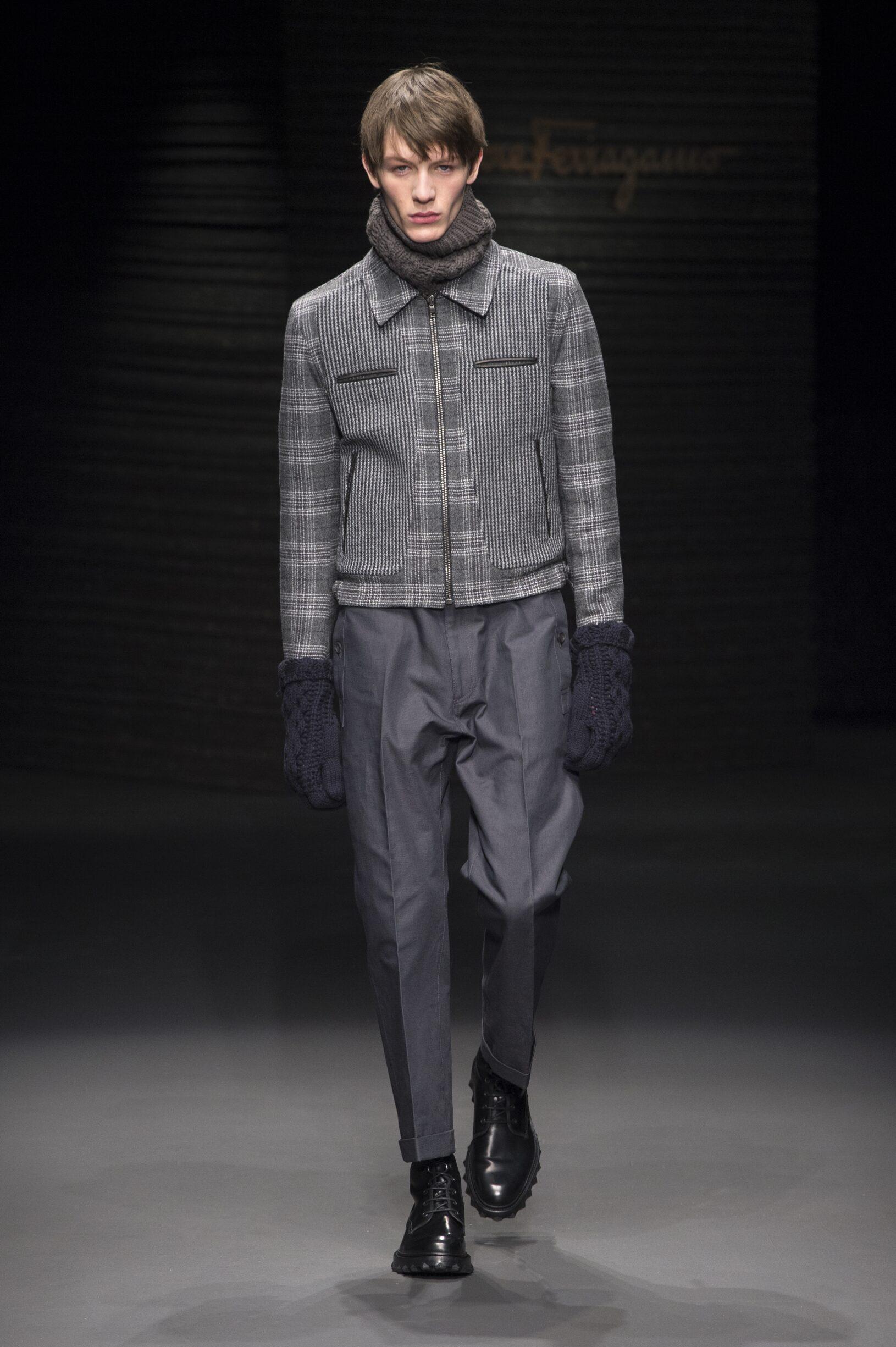 Fall 2017-18 Menswear Salvatore Ferragamo