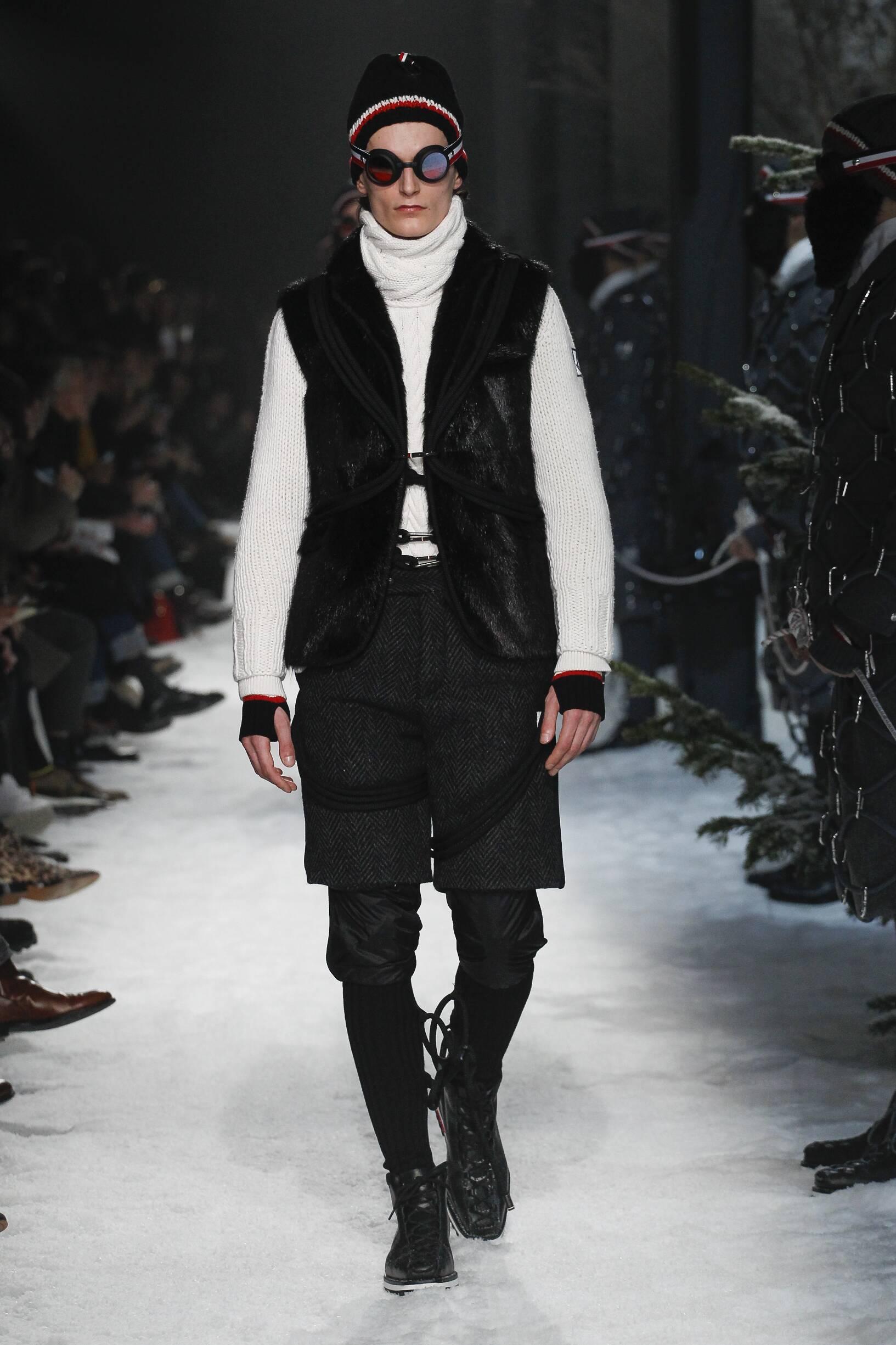 Fall Fashion Trends 2017 Moncler Gamme Bleu