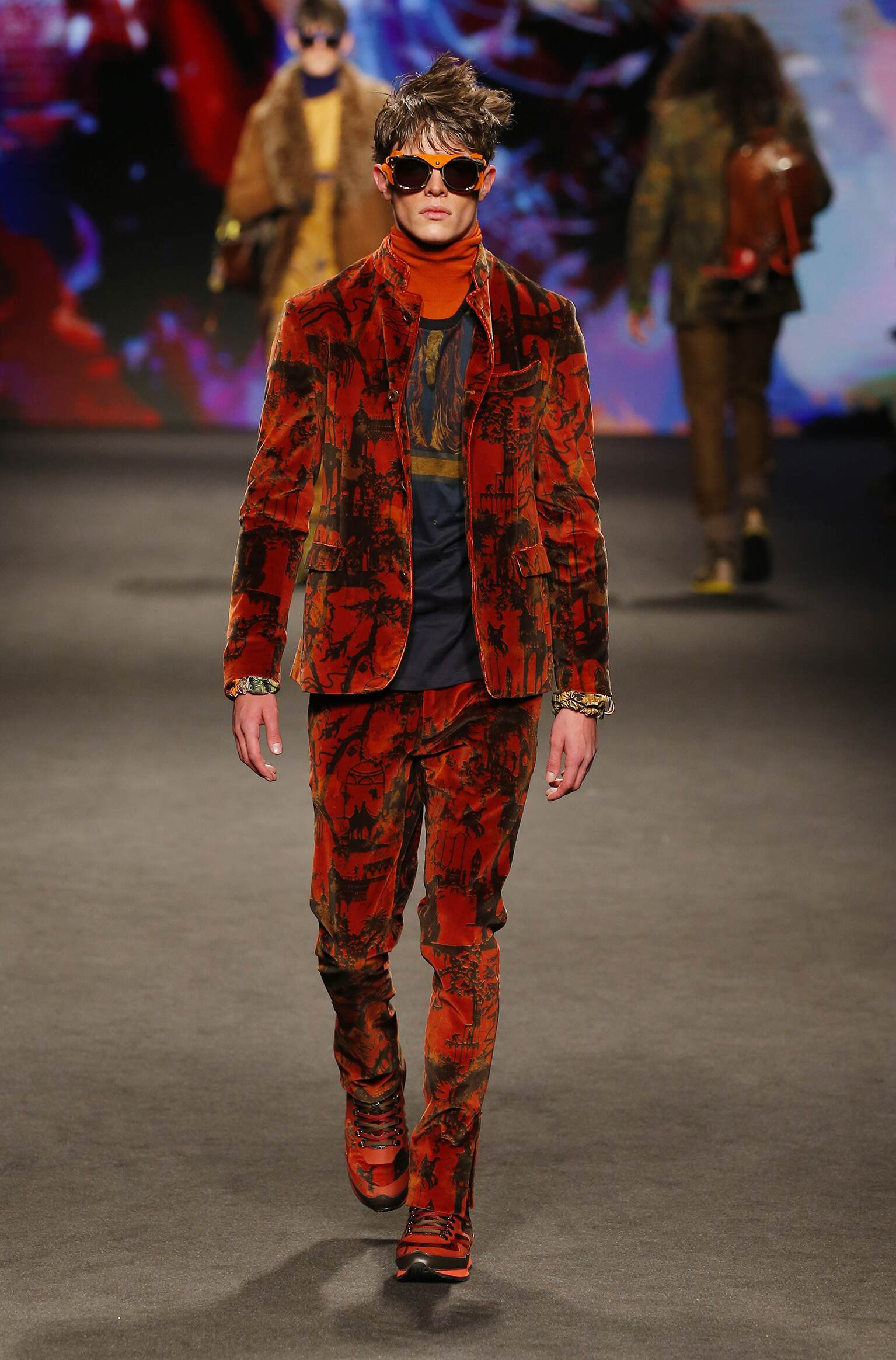 Fall Winter 2017 Man Milan Etro Collection