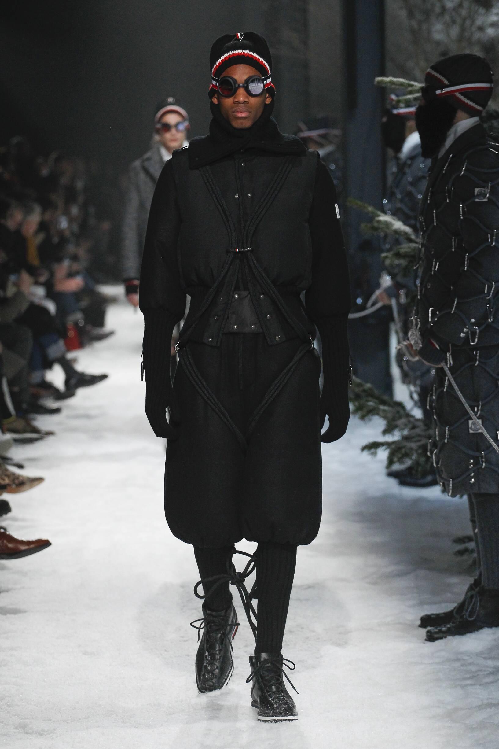 Fall Winter 2017 Man Milan Moncler Gamme Bleu Collection