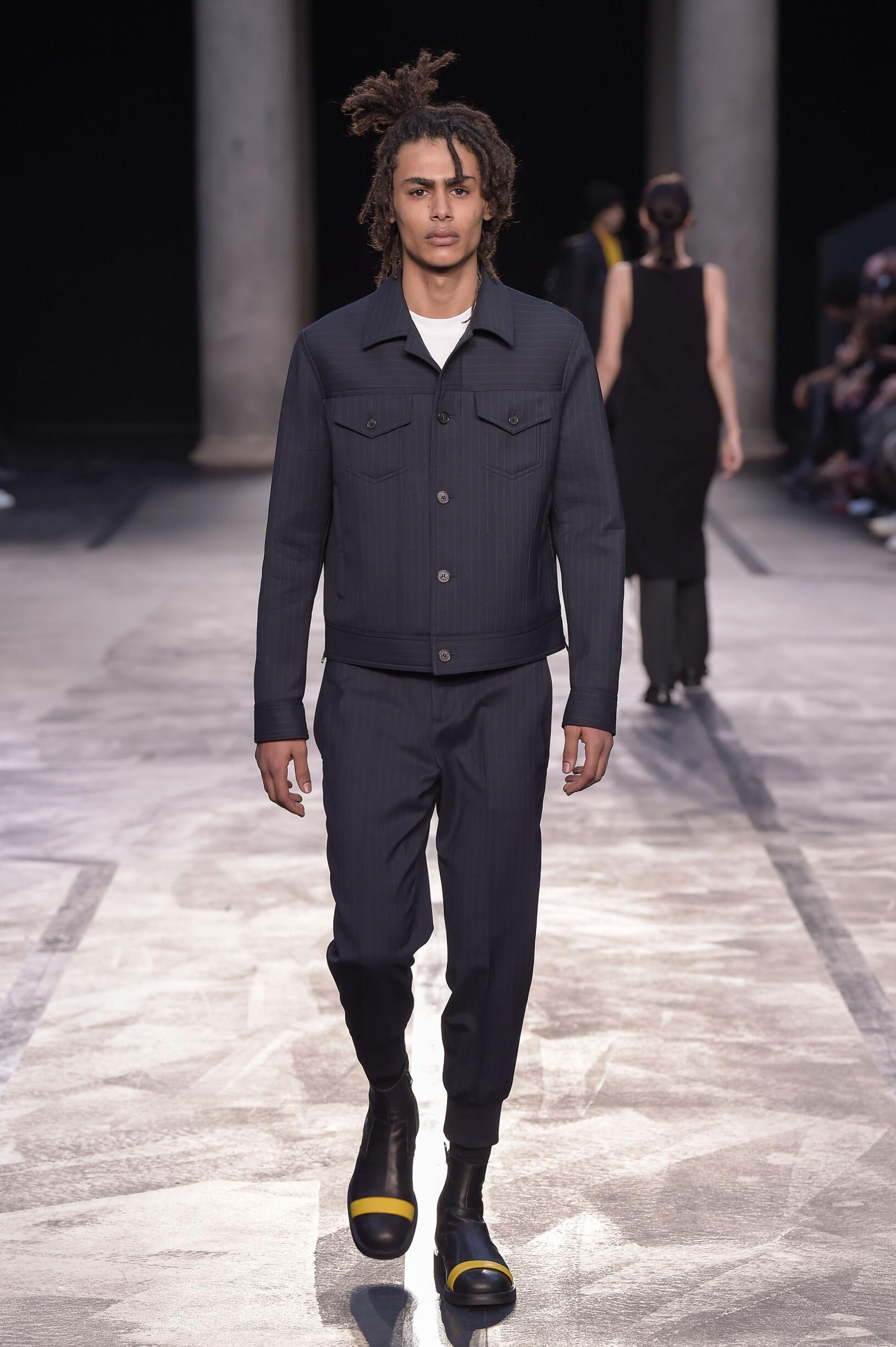 Fall Winter 2017 Man Milan Neil Barrett Collection