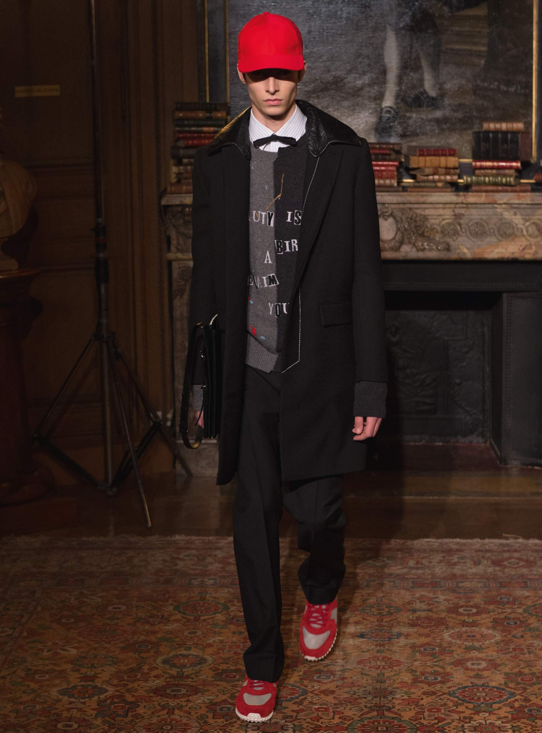 Fall Winter 2017 Man Paris Valentino Collection