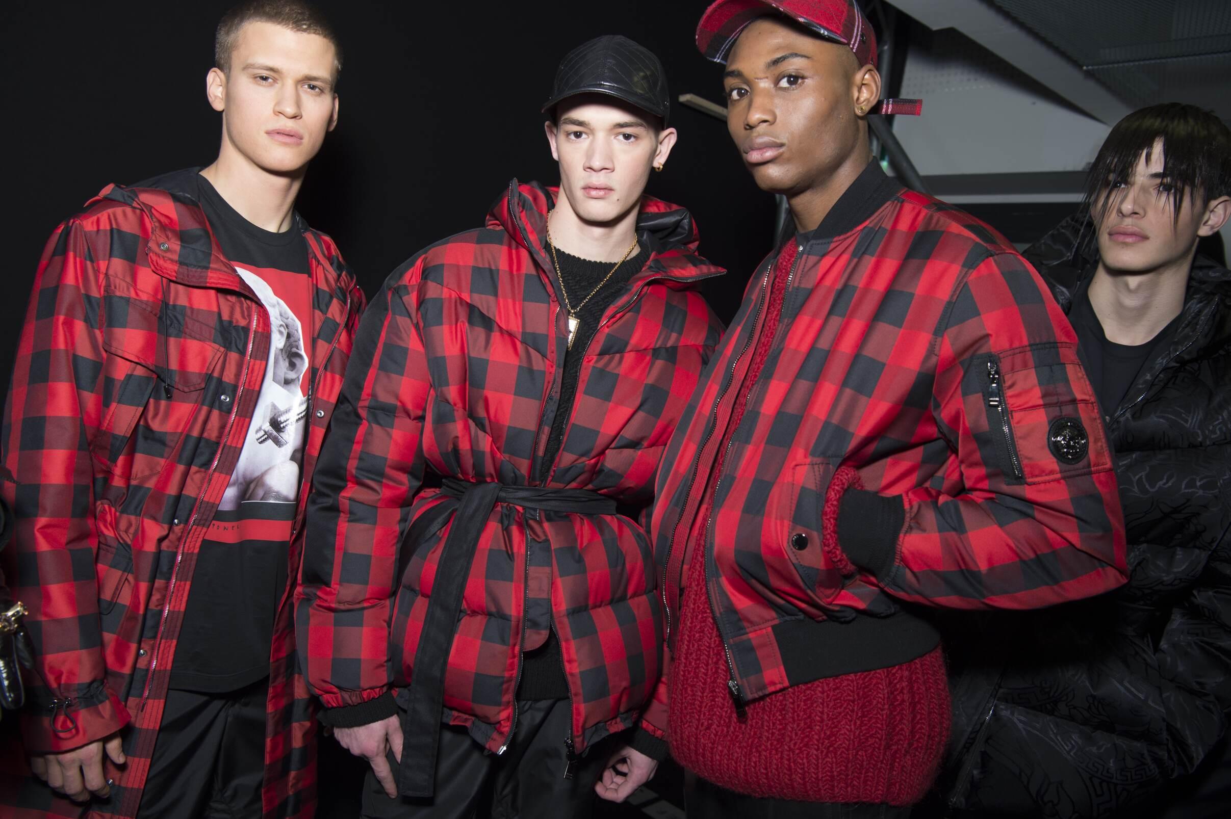 Fall Winter Backstage Versace