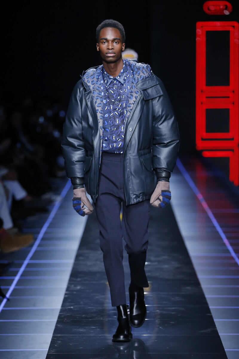 Fashion 2017-18 Man Style Fendi