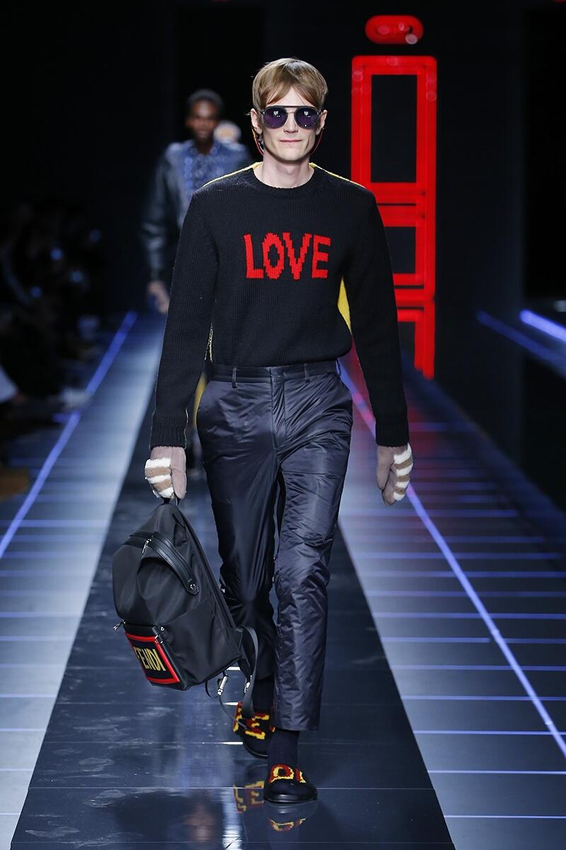 Fashion 2017-2018 Catwalk Fendi Winter