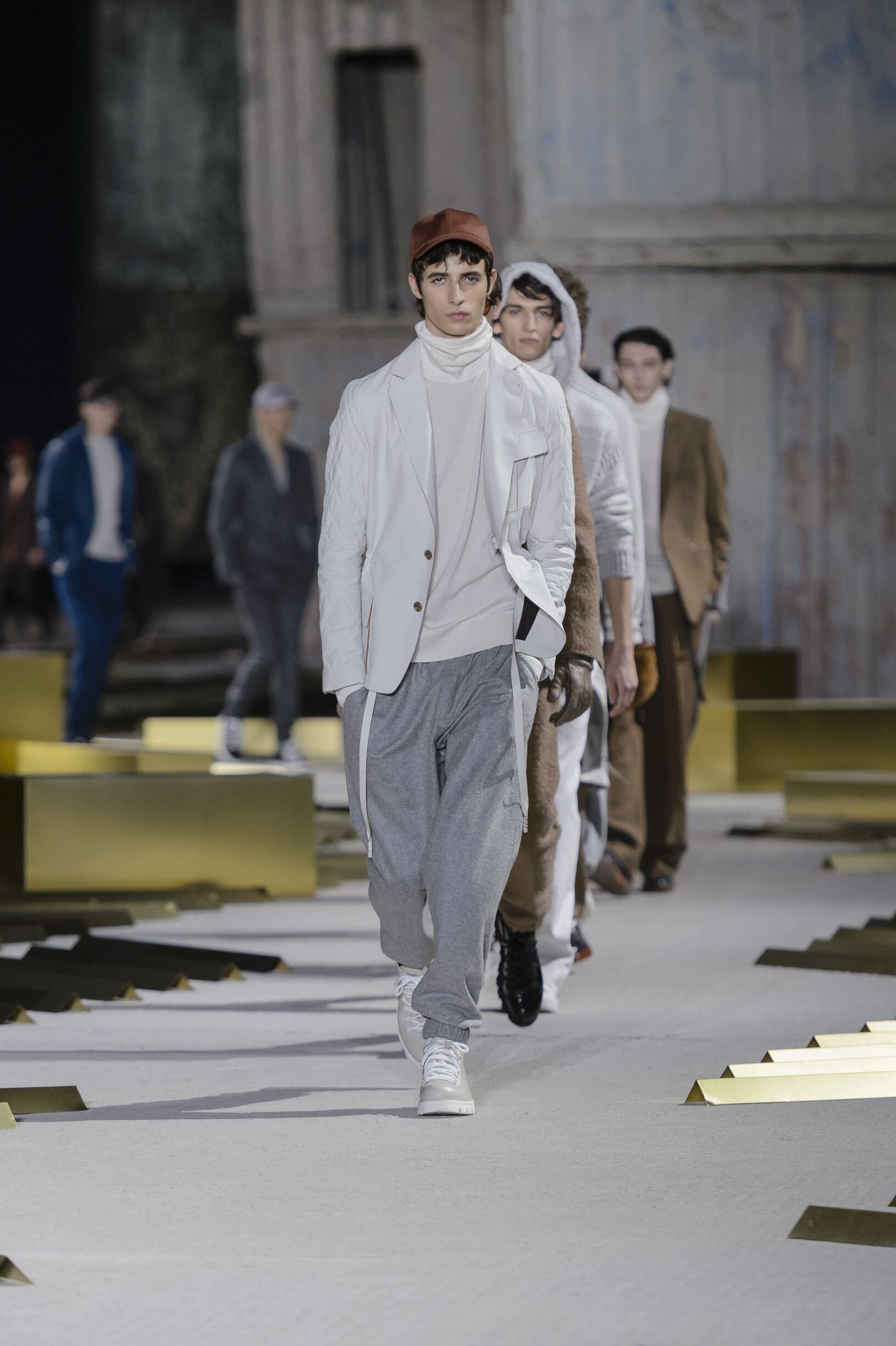 Fashion 2017 2018 Man Style Ermenegildo Zegna