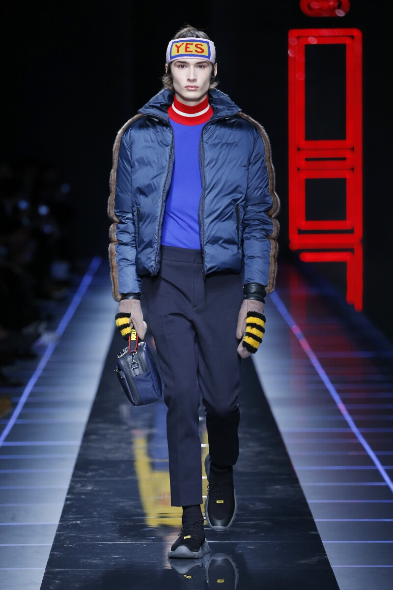 Fashion 2017-2018 Man Style Fendi