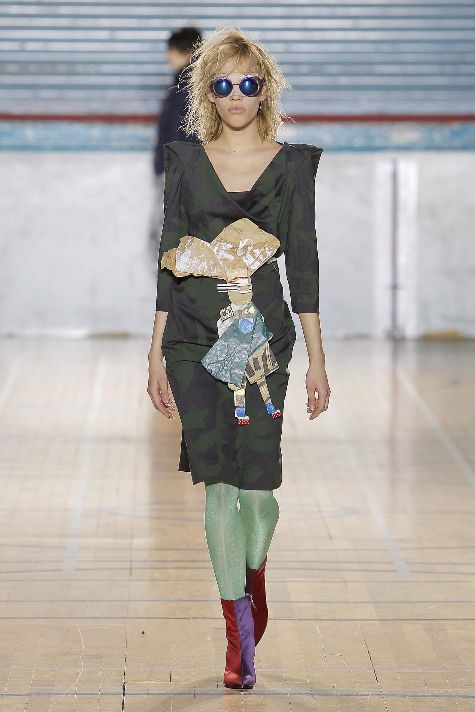 Fashion 2017 Catwalk Vivienne Westwood Winter