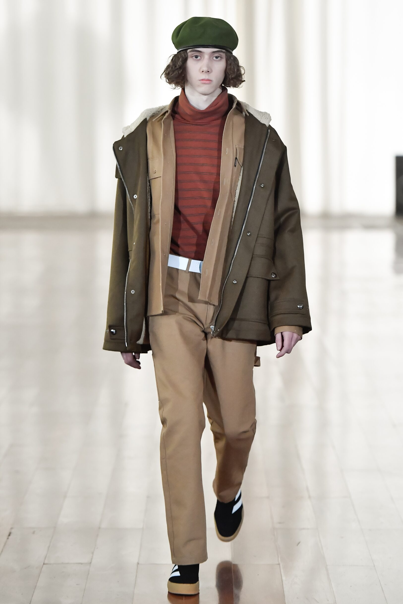 Fashion Man Model Gosha Rubchinskiy Catwalk