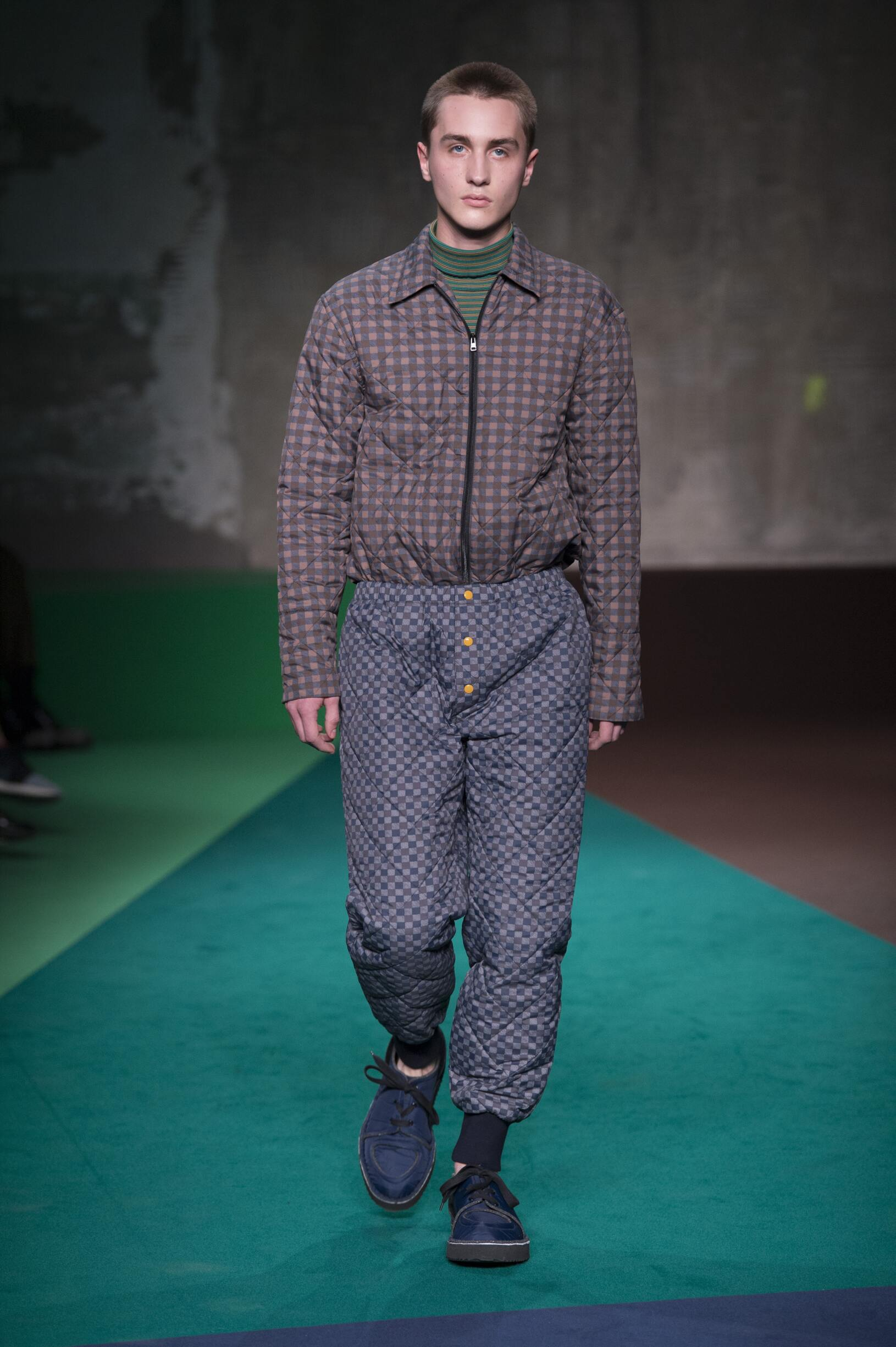 Fashion Man Model Marni Catwalk