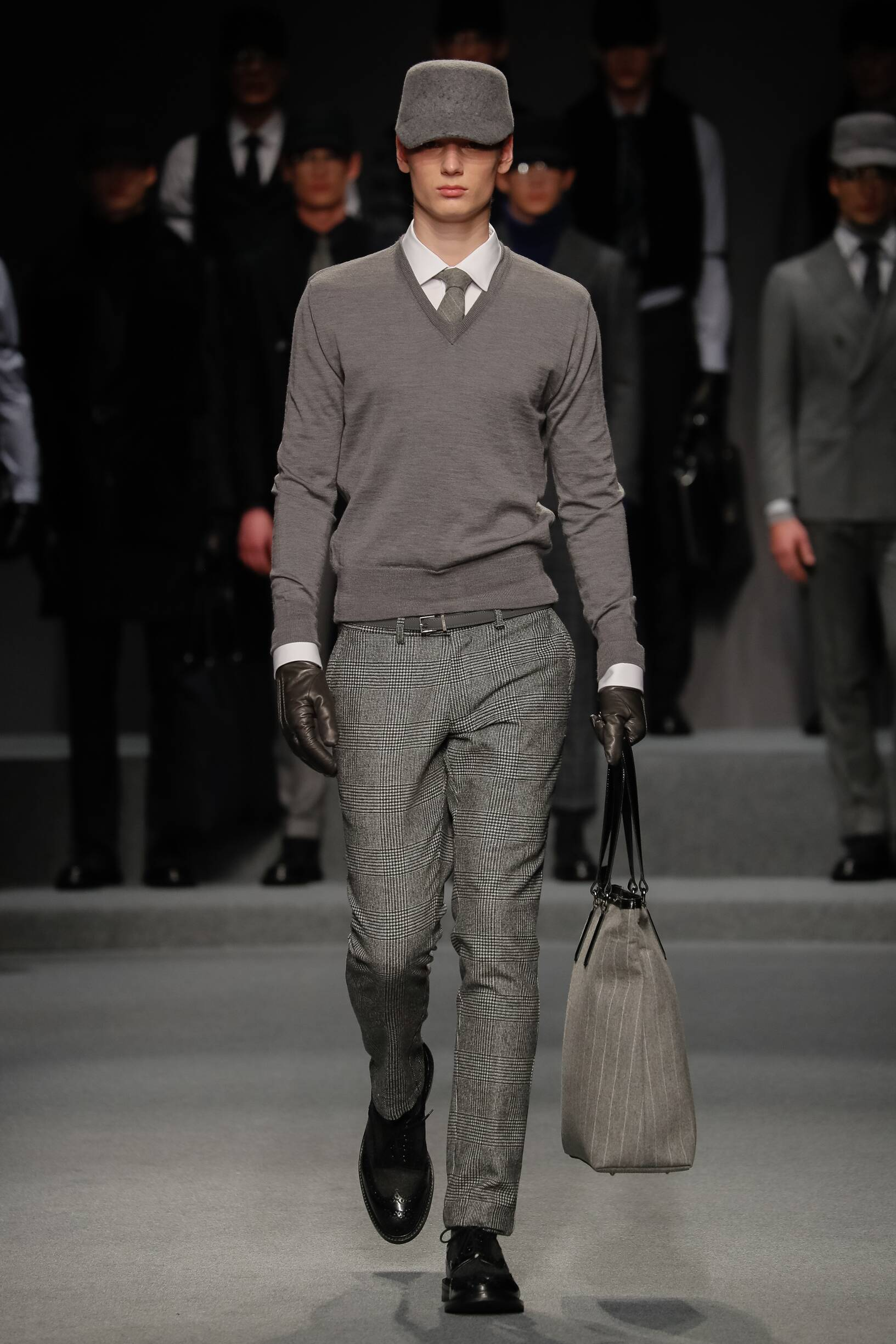 Fashion Model Daks Catwalk